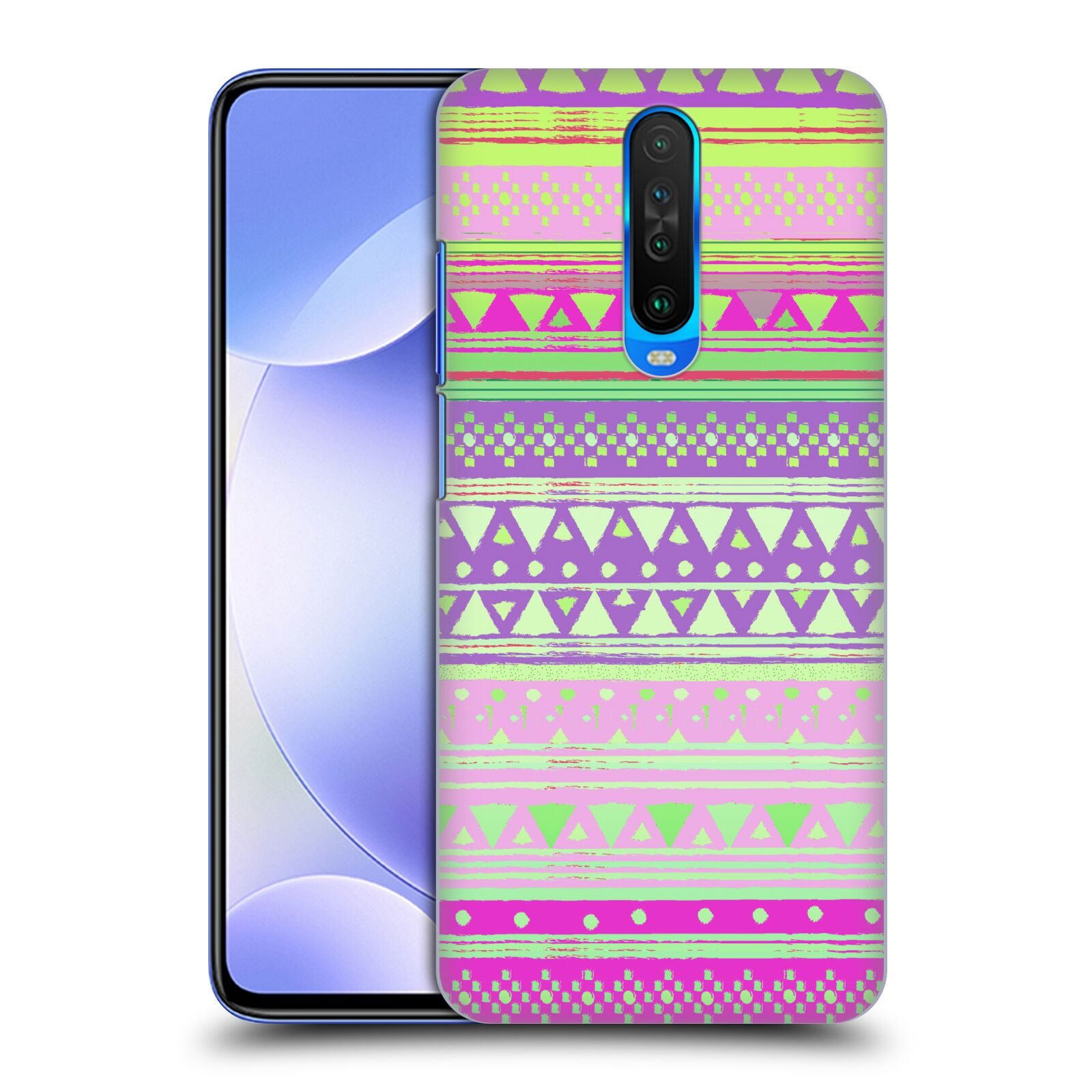 Official Nika Martinez Tribal Prints Fresh Native Bandana Case for Xiaomi Redmi K30 / 5G