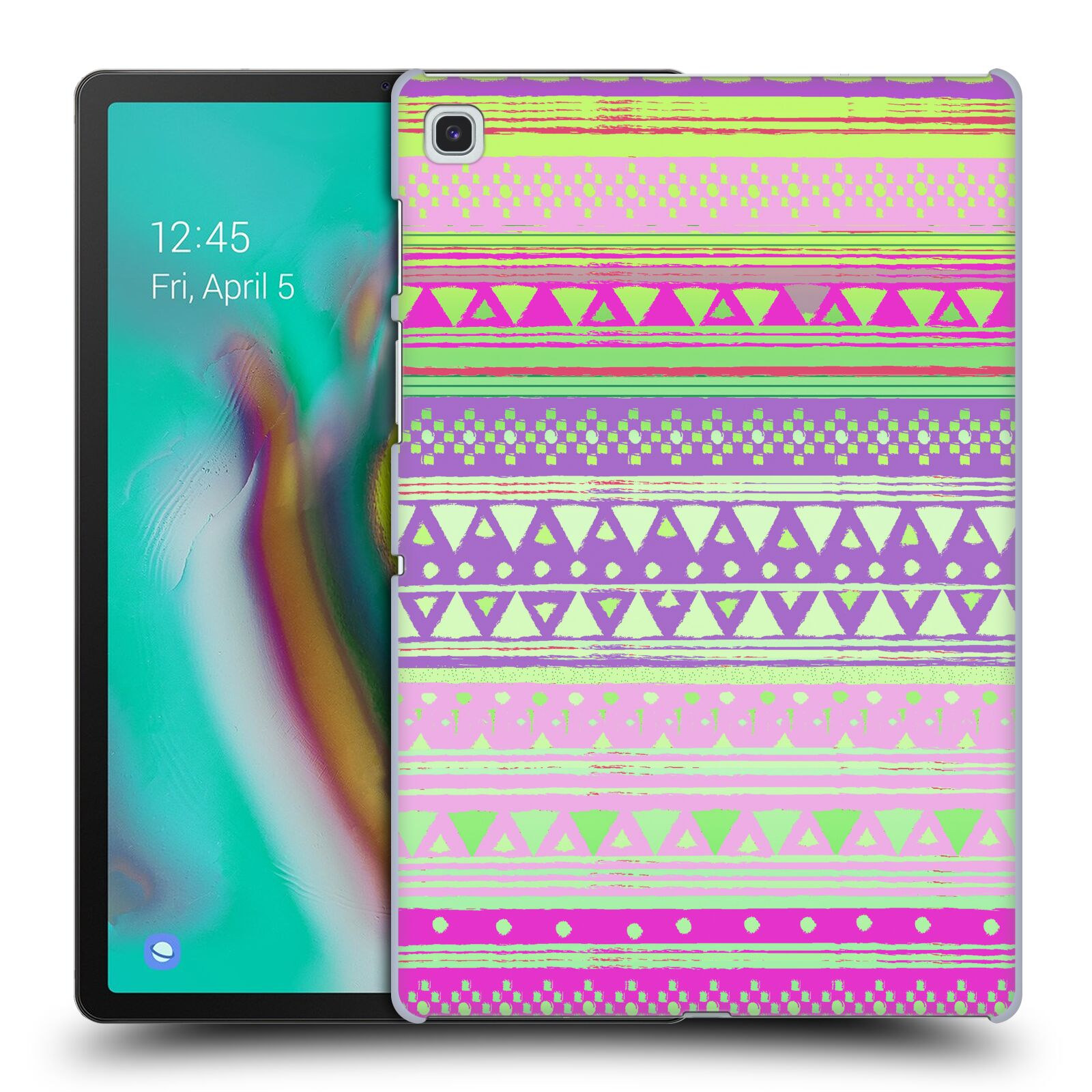 Official Nika Martinez Tribal Prints Fresh Native Bandana Case for Samsung Galaxy Tab S5e