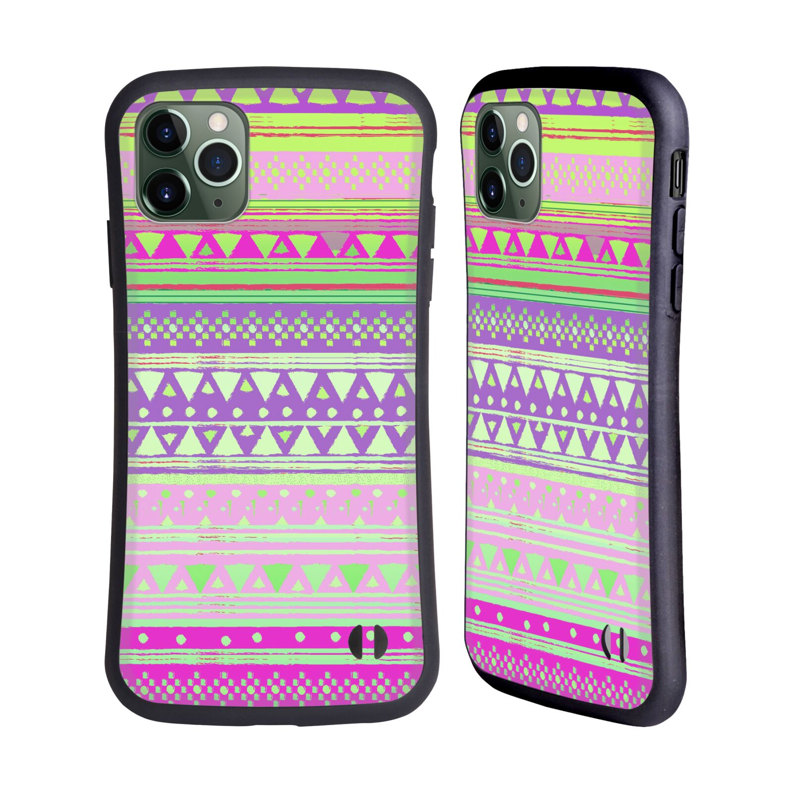 Official Nika Martinez Tribal Prints Fresh Native Bandana Hybrid Case for Apple iPhone 11 Pro Max