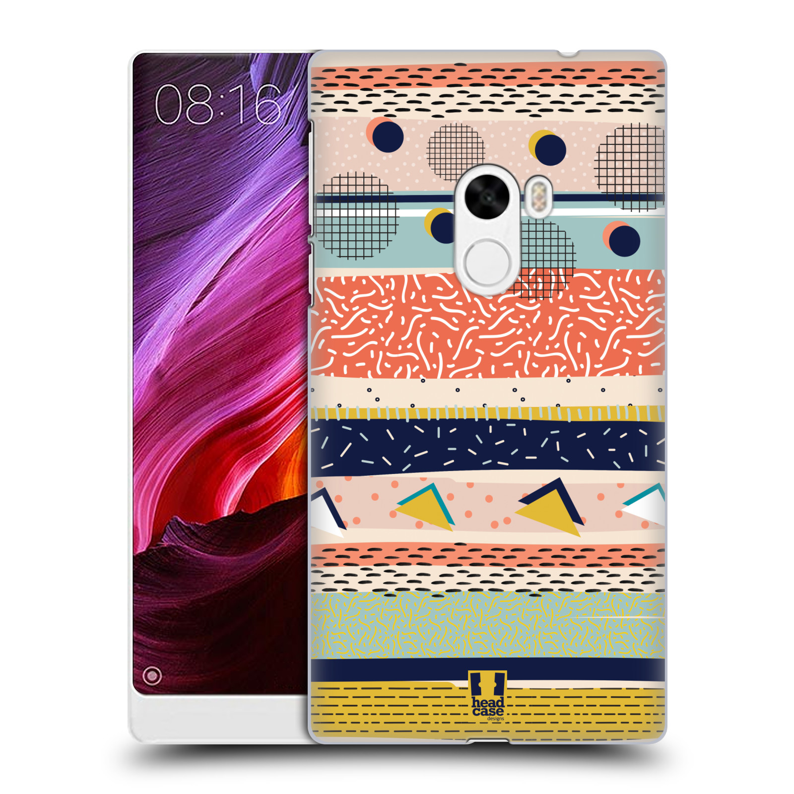 HEAD-CASE-DESIGNS-NO-BASIC-ABSTRACT-HARD-BACK-CASE-FOR-XIAOMI-Mi-MIX
