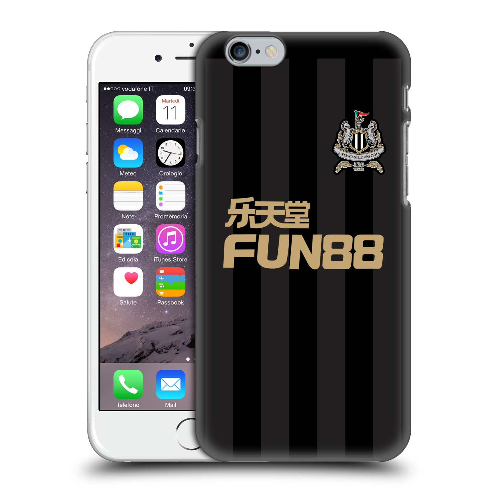 Newcastle Iphone Case