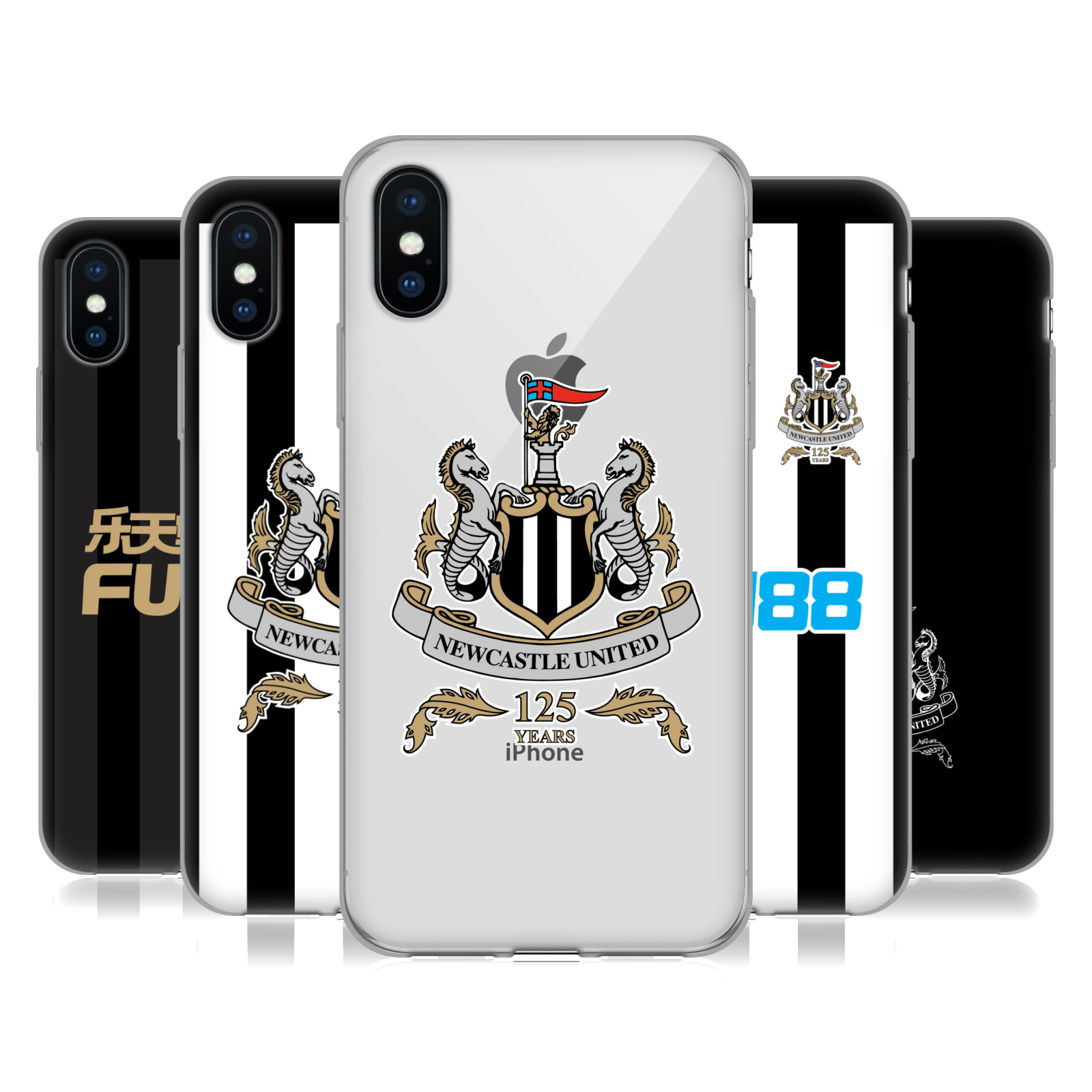 Newcastle United FC NUFC 125 Year Anniversary
