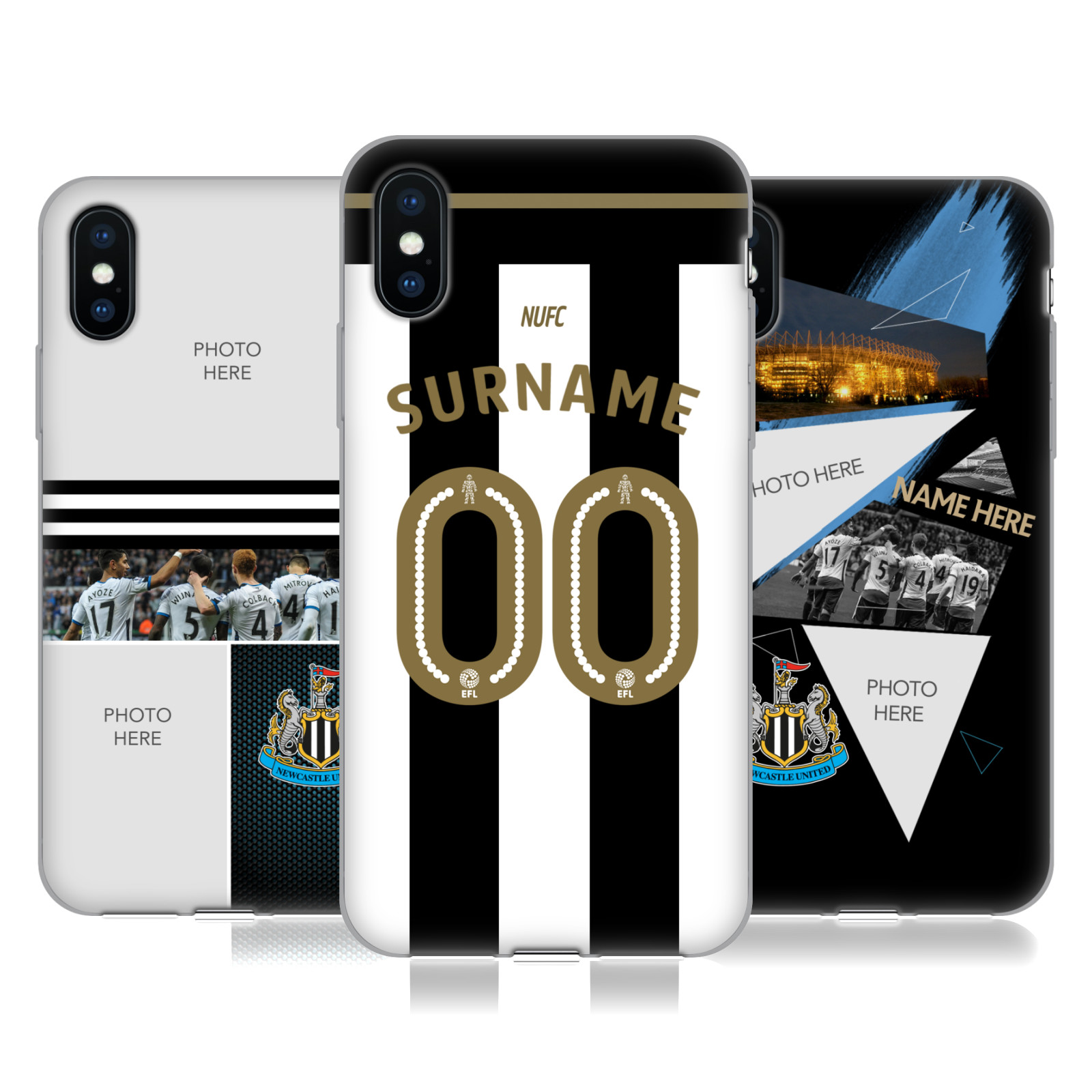 Newcastle United FC NUFC 2016/17 Personalised