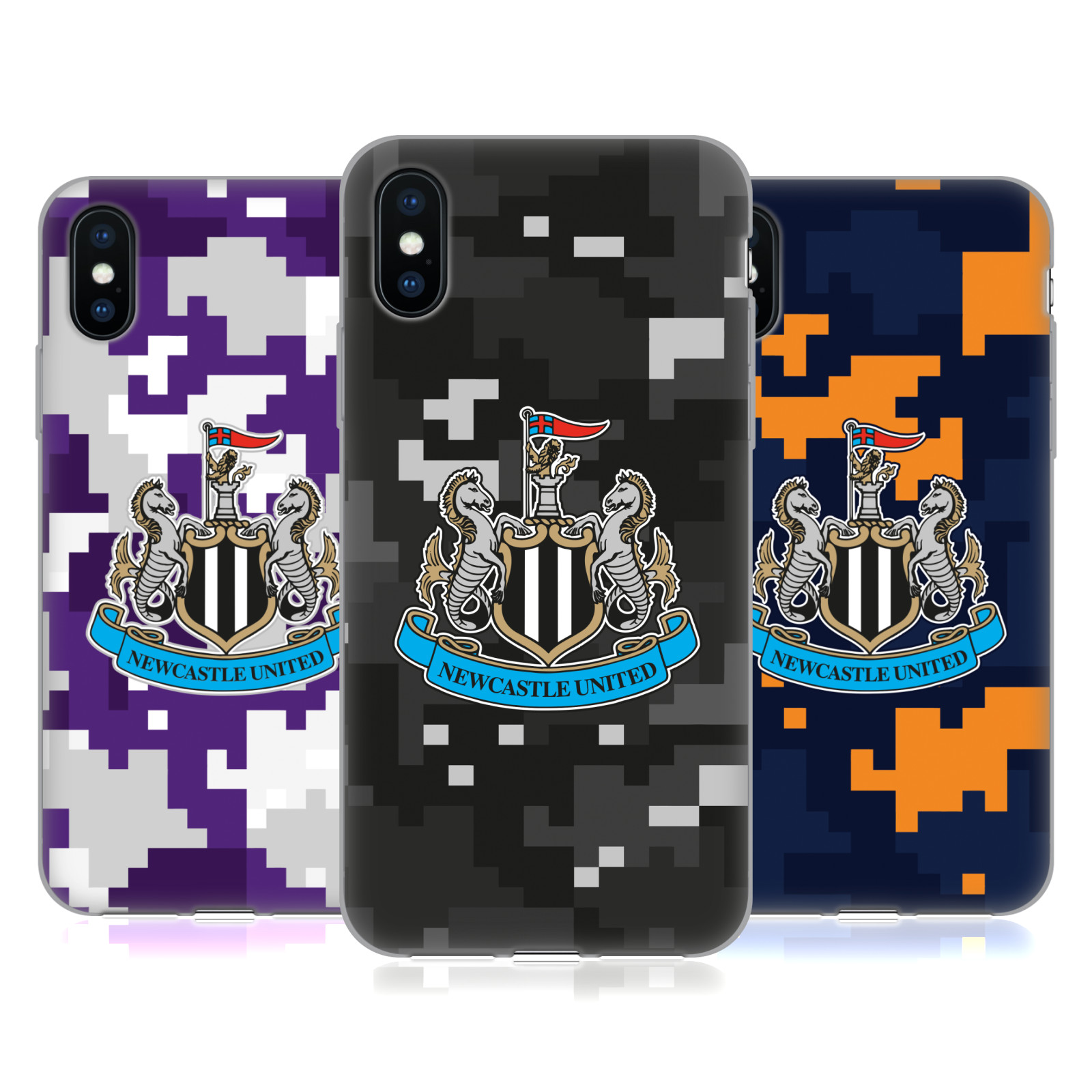 Official Newcastle United FC NUFC Crest Kit Digital Camo