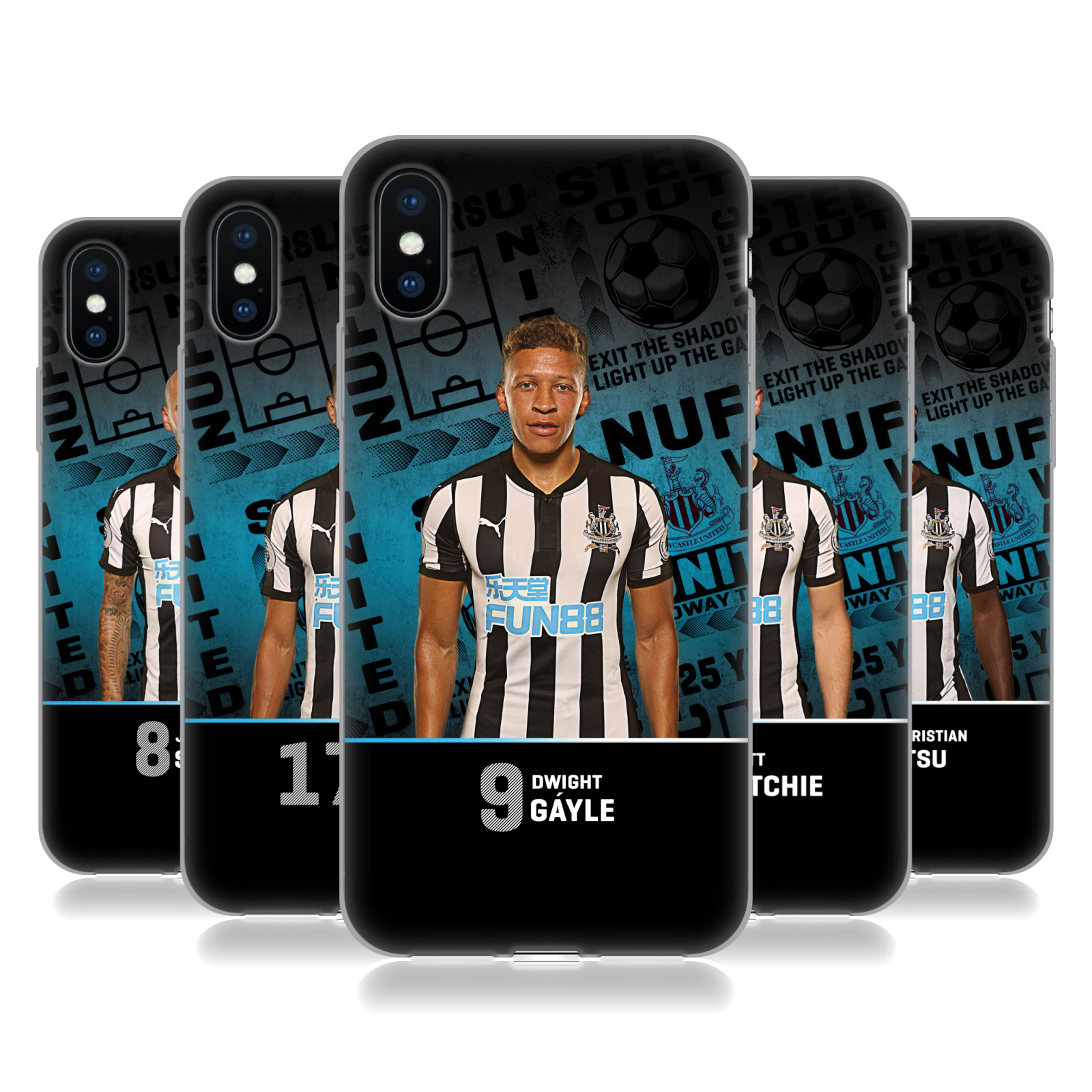 Newcastle United FC NUFC 2017/18 First Team 1