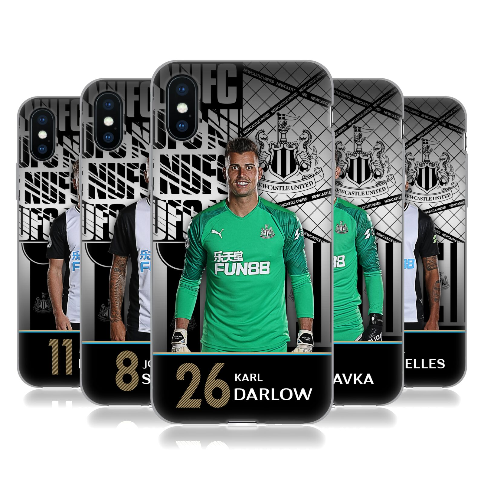 Newcastle United FC NUFC <!--translate-lineup-->2019/20 FIRST TEAM GROUP 1<!--translate-lineup-->