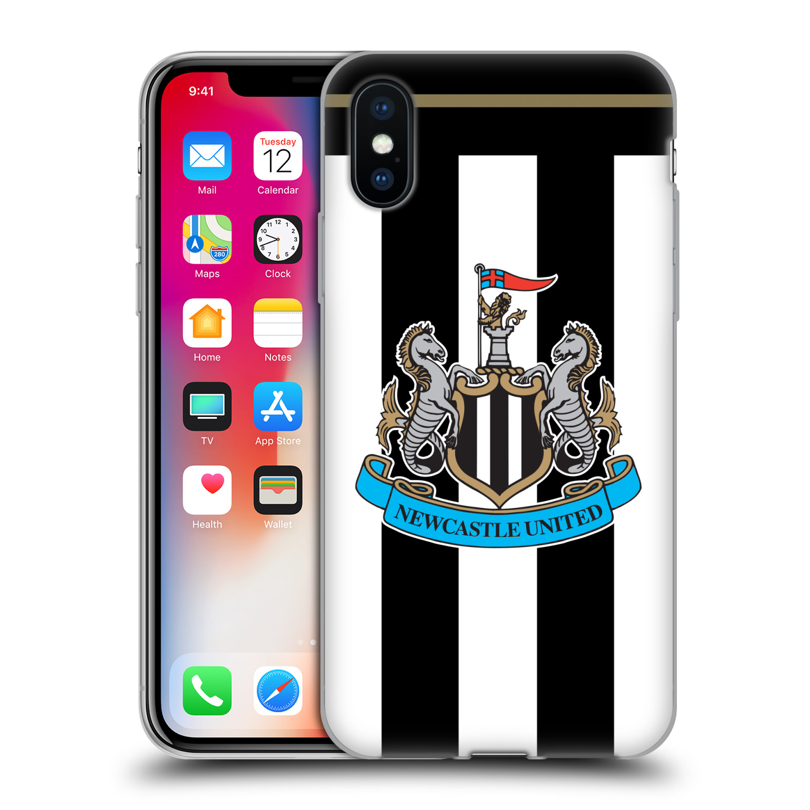NEWCASTLE-UNITED-FC-NUFC-2016-17-KIT-SOFT-GEL-CASE-FOR-APPLE-iPHONE-PHONES