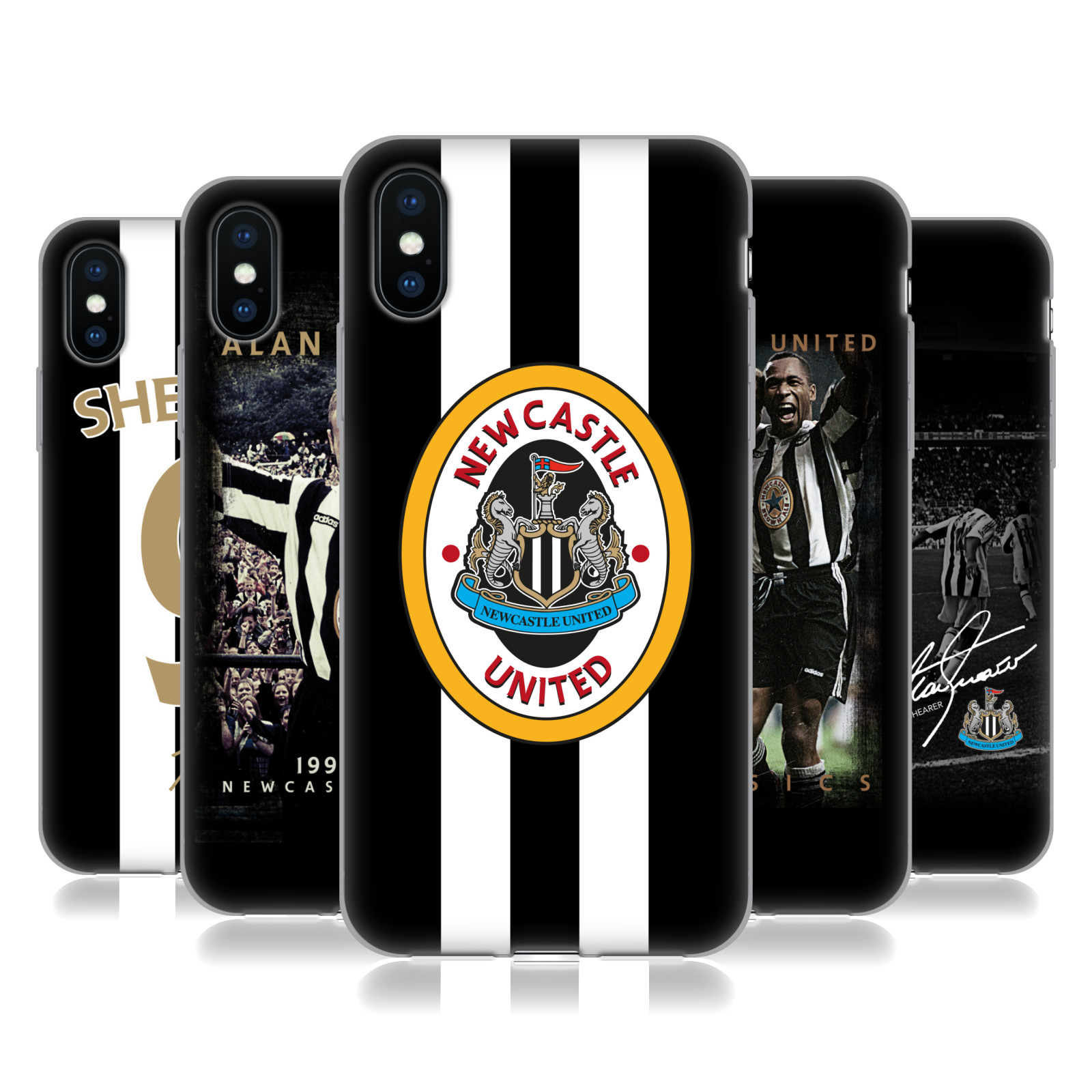 Official Newcastle United FC NUFC Retro Badge Collection