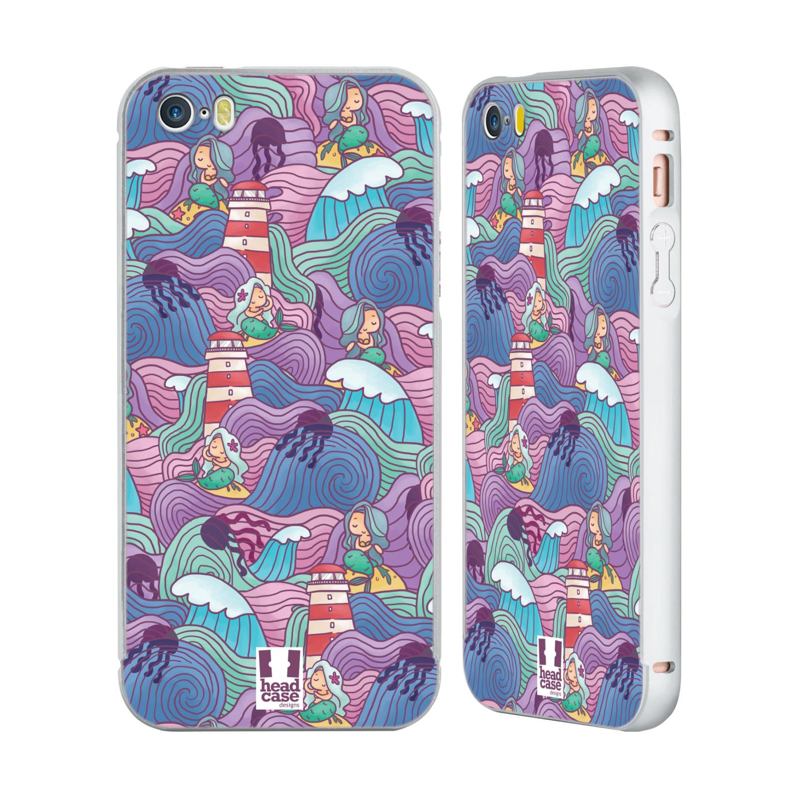 HEAD-CASE-DESIGNS-OCEAN-WAVE-DOODLES-SILVER-SLIDER-CASE-FOR-APPLE-iPHONE-PHONES