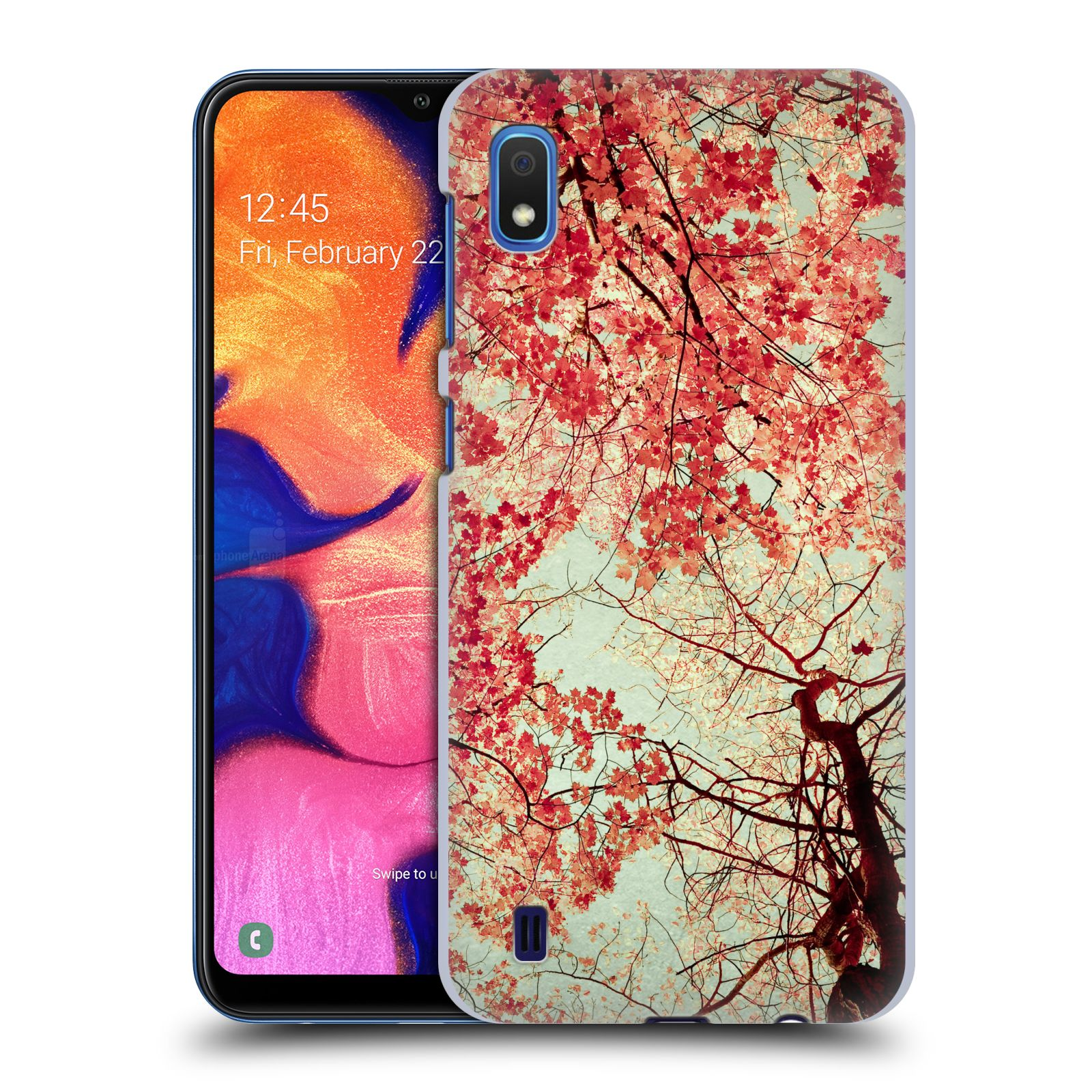 Official Olivia Joy StClaire Nature Autumn Red Case for Samsung Galaxy A10 (2019)