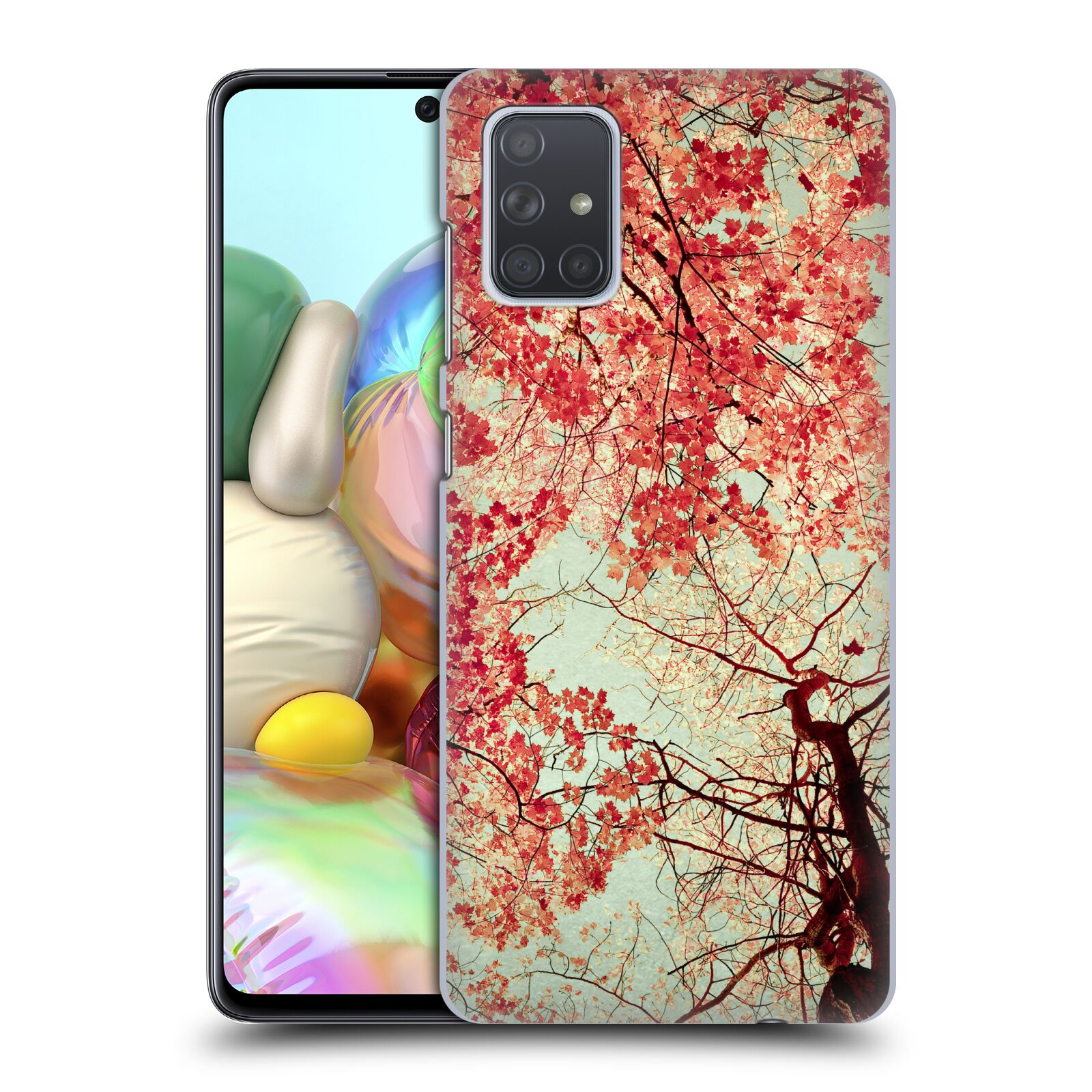 Official Olivia Joy StClaire Nature Autumn Red Case for Samsung Galaxy A71 (2019)