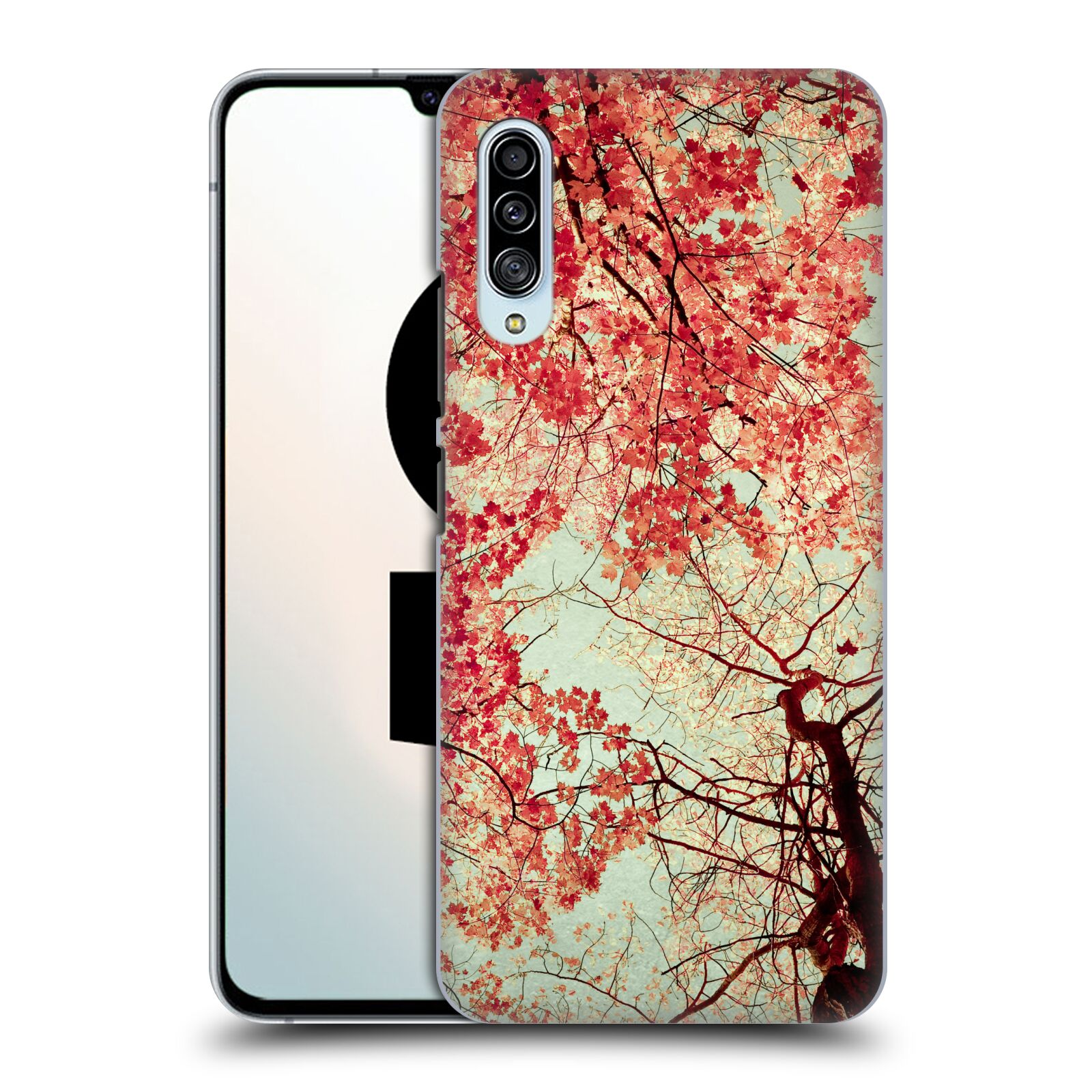 Official Olivia Joy StClaire Nature Autumn Red Case for Samsung Galaxy A90 5G (2019)