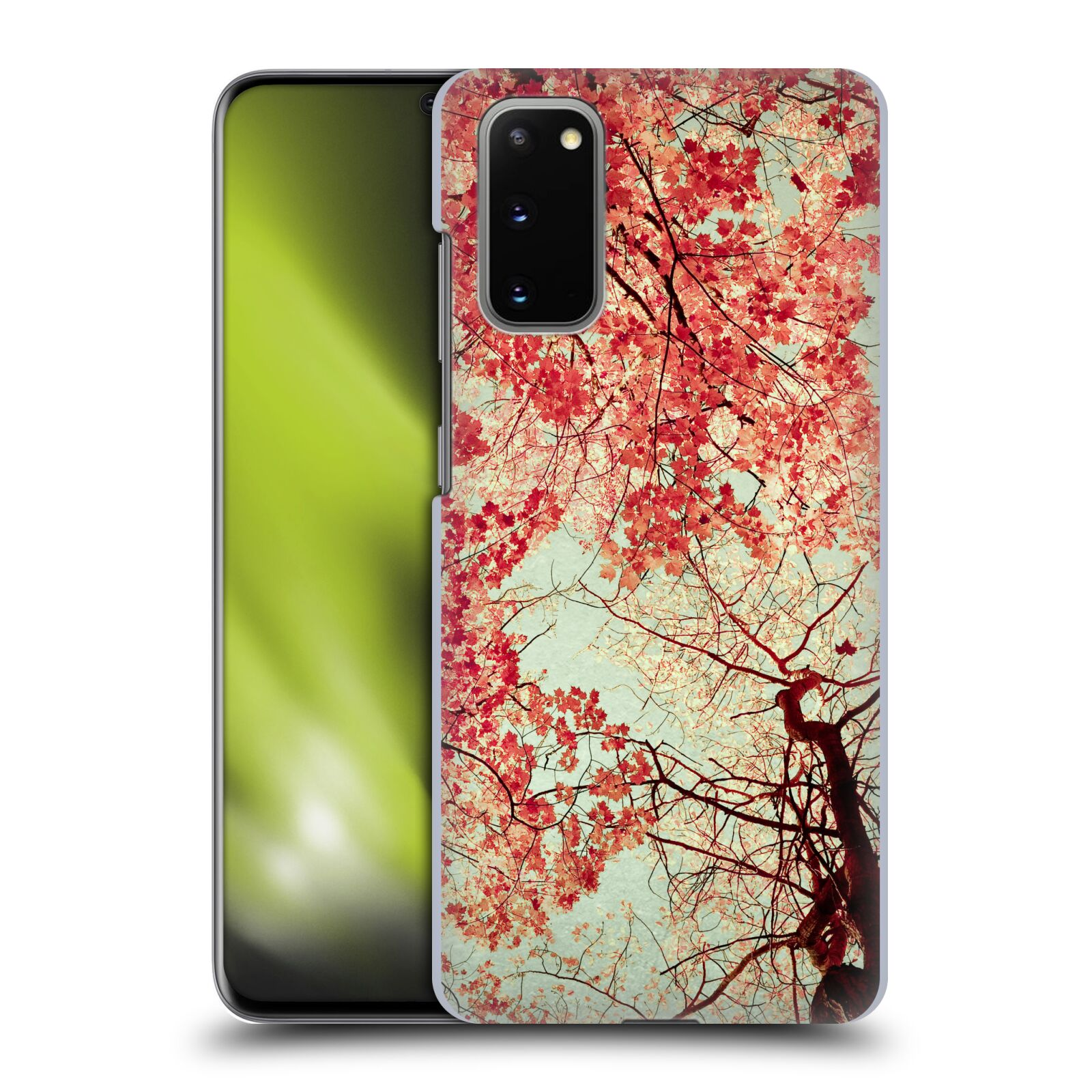 Official Olivia Joy StClaire Nature Autumn Red Case for Samsung Galaxy S20 / S20 5G