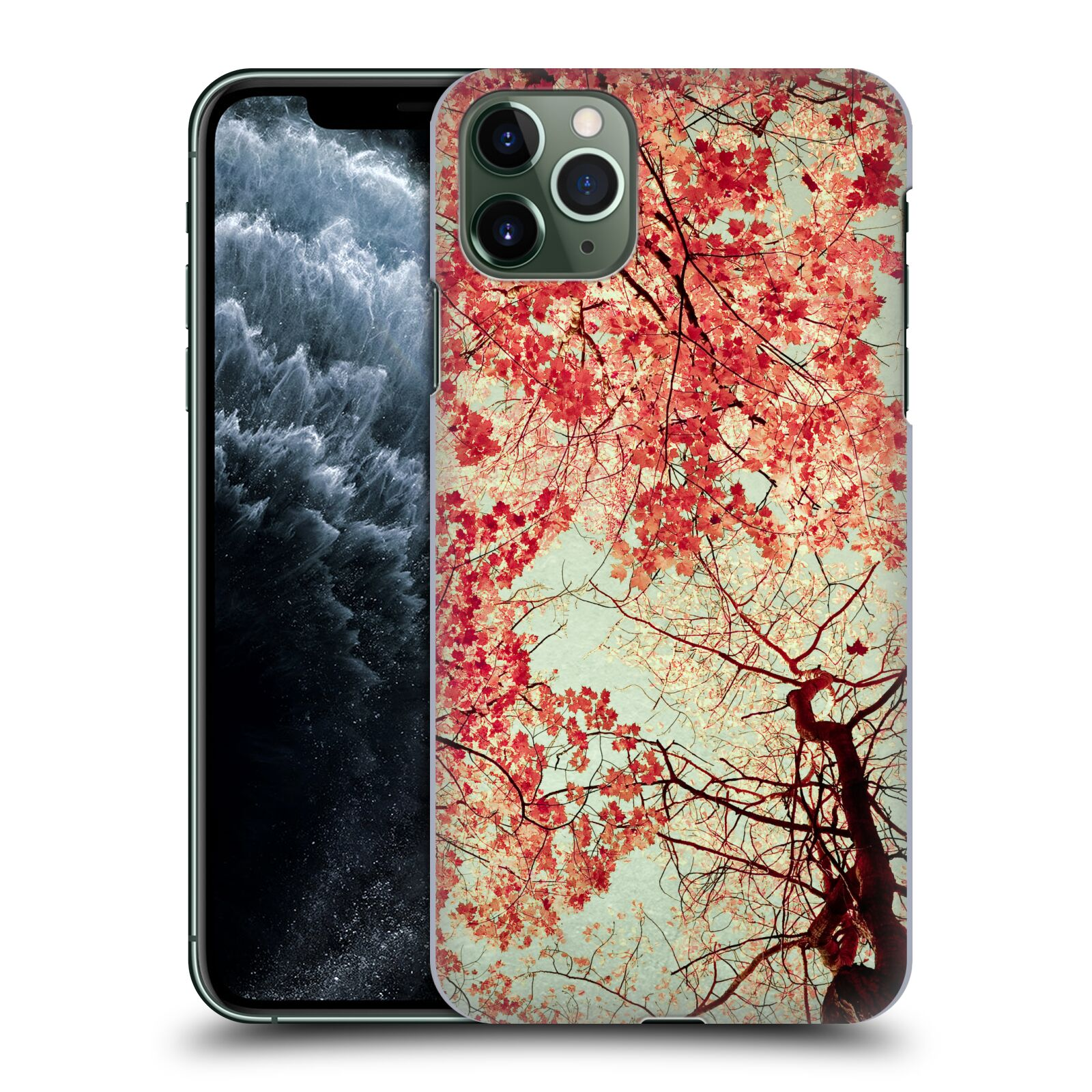 Official Olivia Joy StClaire Nature Autumn Red Case for Apple iPhone 11 Pro Max
