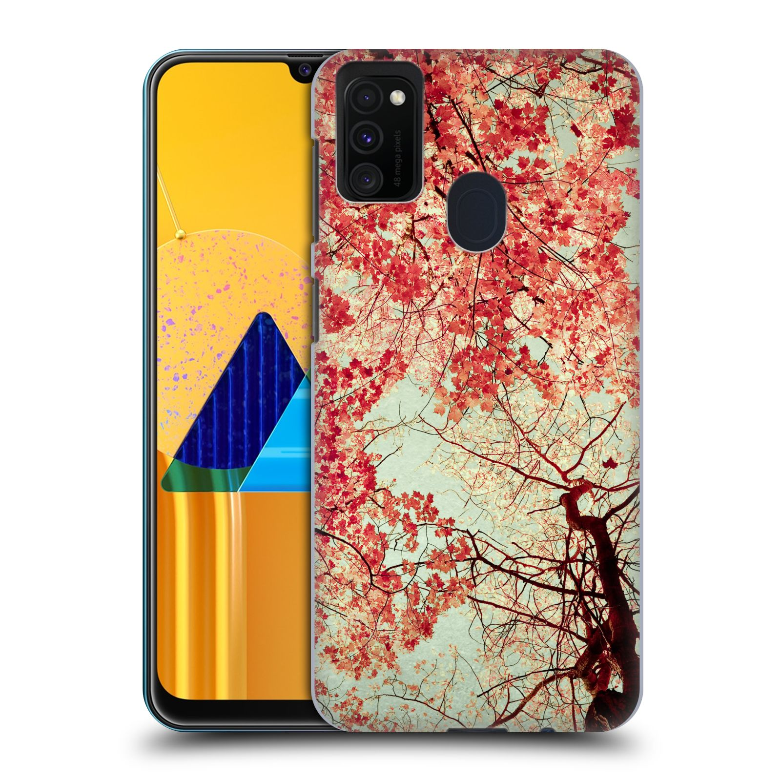 Official Olivia Joy StClaire Nature Autumn Red Case for Samsung Galaxy M30s (2019)