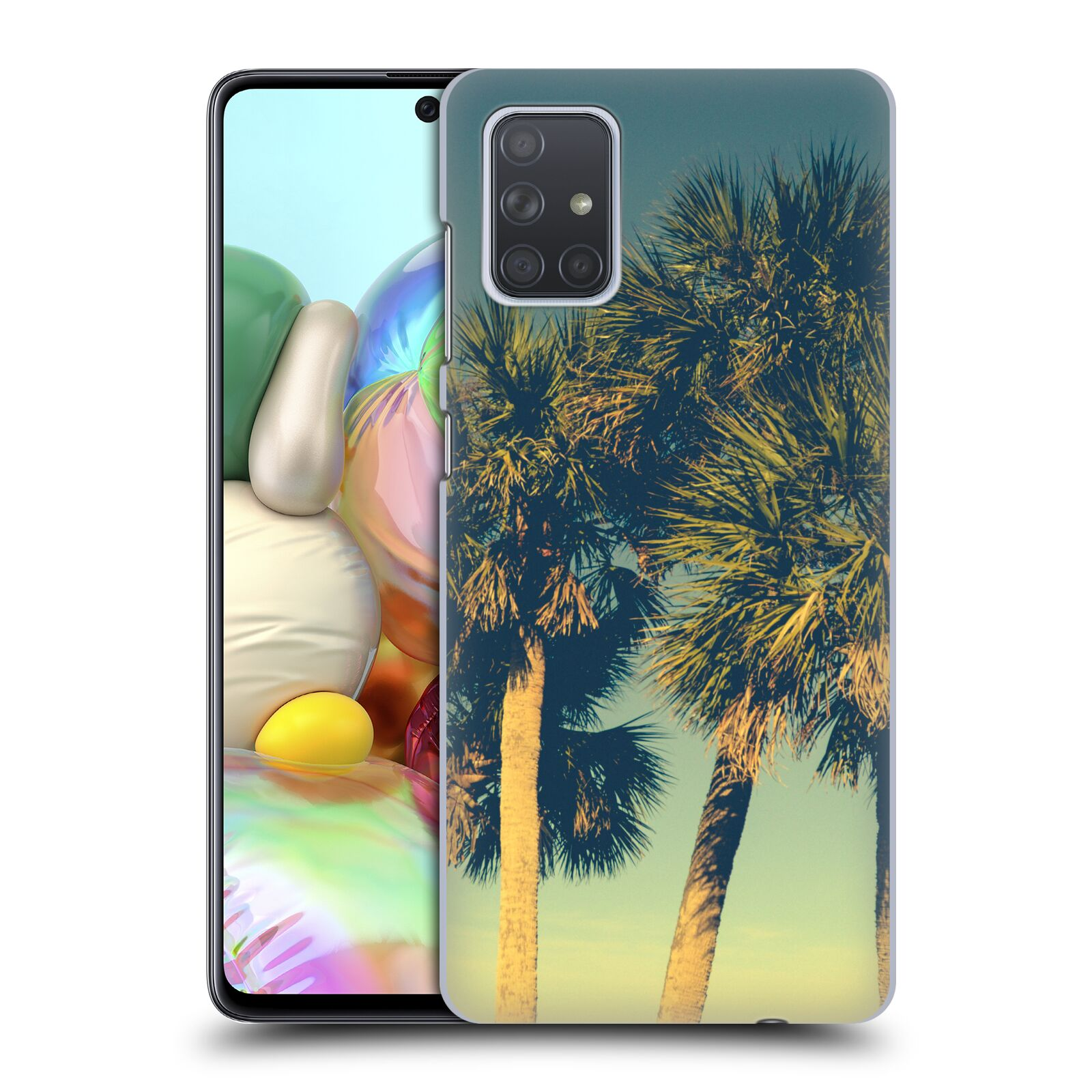 Official Olivia Joy StClaire Nature Tropical Palm Trees Case for Samsung Galaxy A71 (2019)
