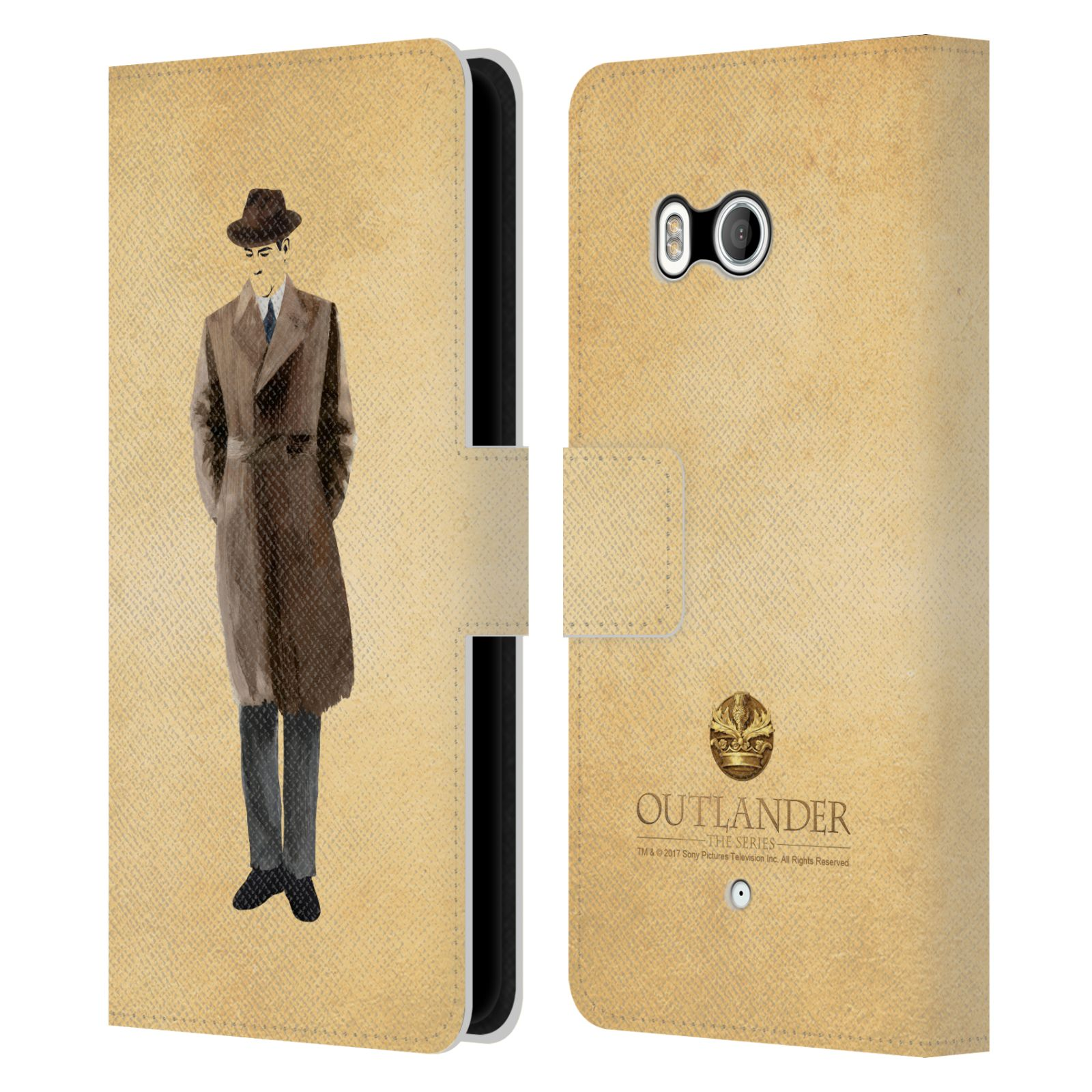 OFFICIAL-OUTLANDER-PAINTED-IMAGES-LEATHER-BOOK-WALLET-CASE-FOR-HTC-PHONES-1