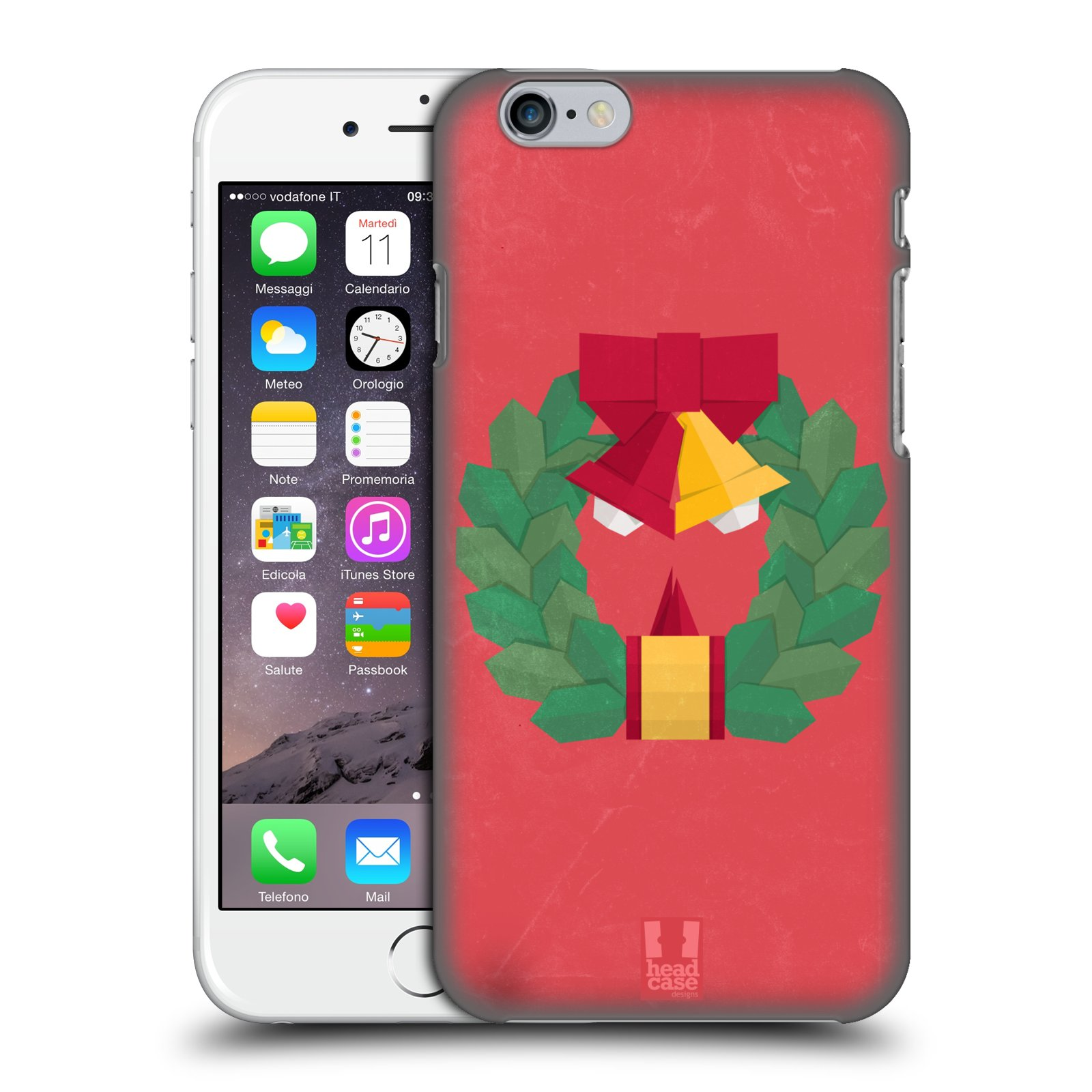 HEAD-CASE-DESIGNS-NATALE-ORIGAMI-COVER-RETRO-RIGIDA-PER-APPLE-iPHONE-TELEFONI