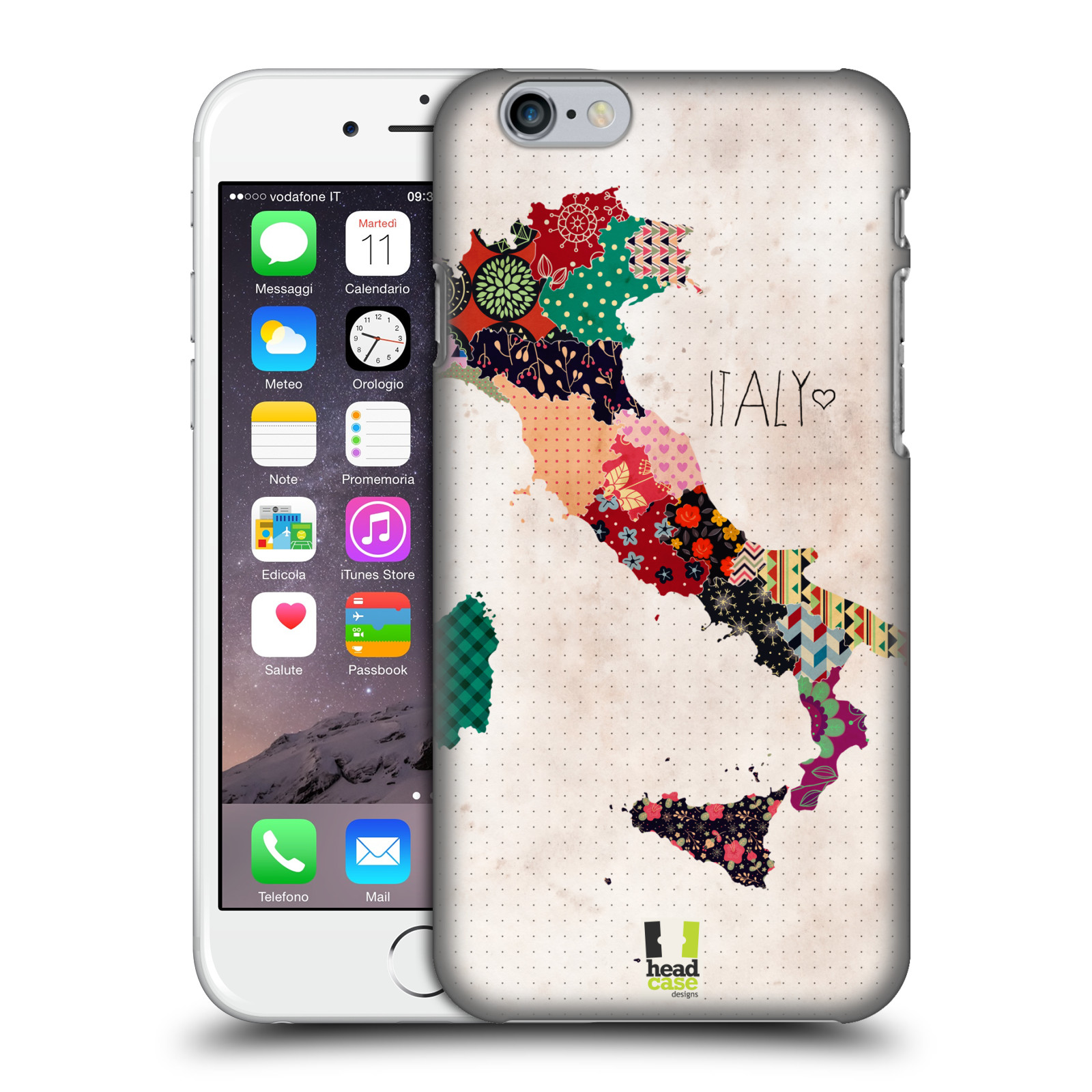 HEAD-CASE-DESIGNS-MAPPE-CON-PATTERN-COVER-RETRO-RIGIDA-PER-APPLE-iPHONE-TELEFONI