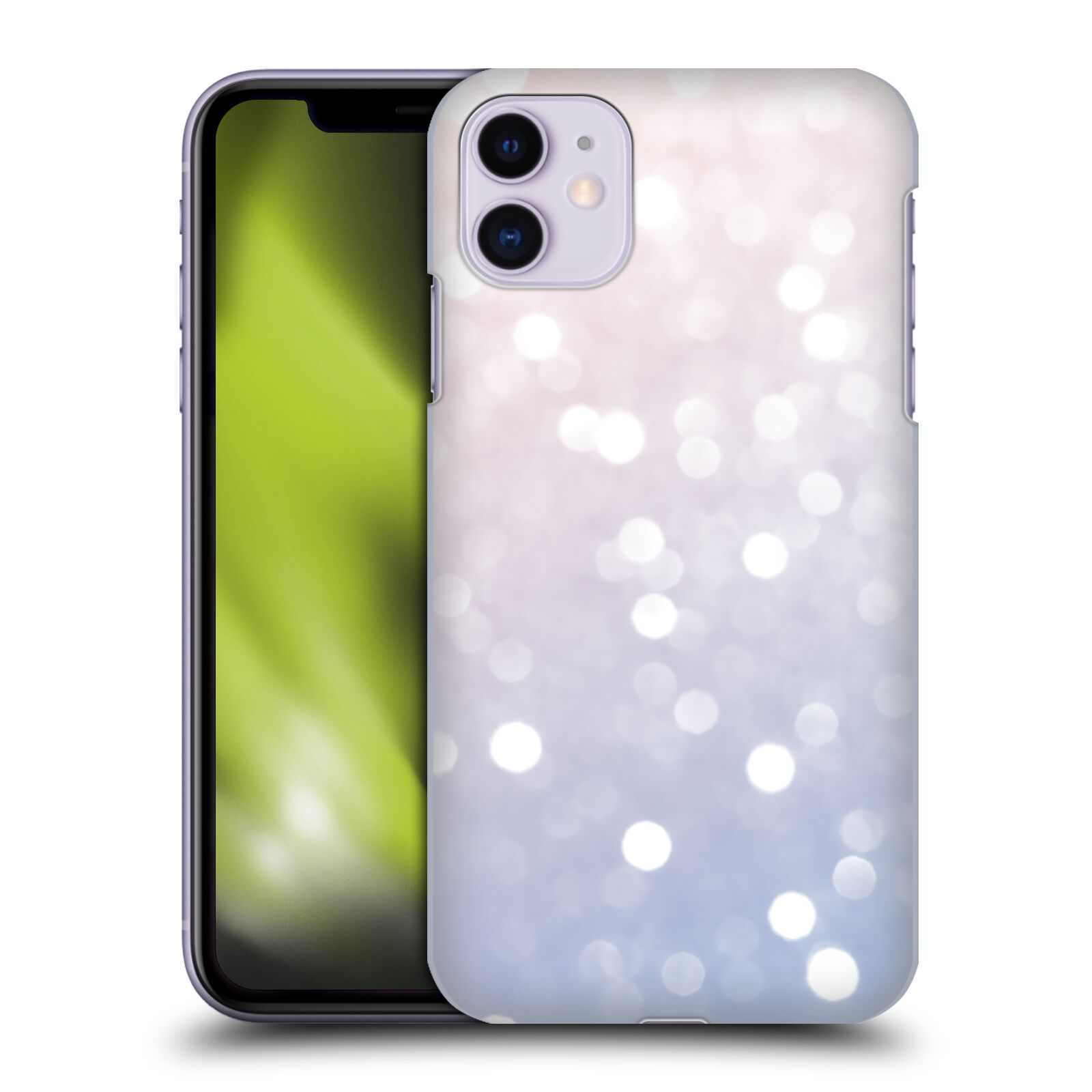 Official PLdesign Abstract Photography Rose Quartz Sparkly Bokeh Back Case for Apple iPhone 11