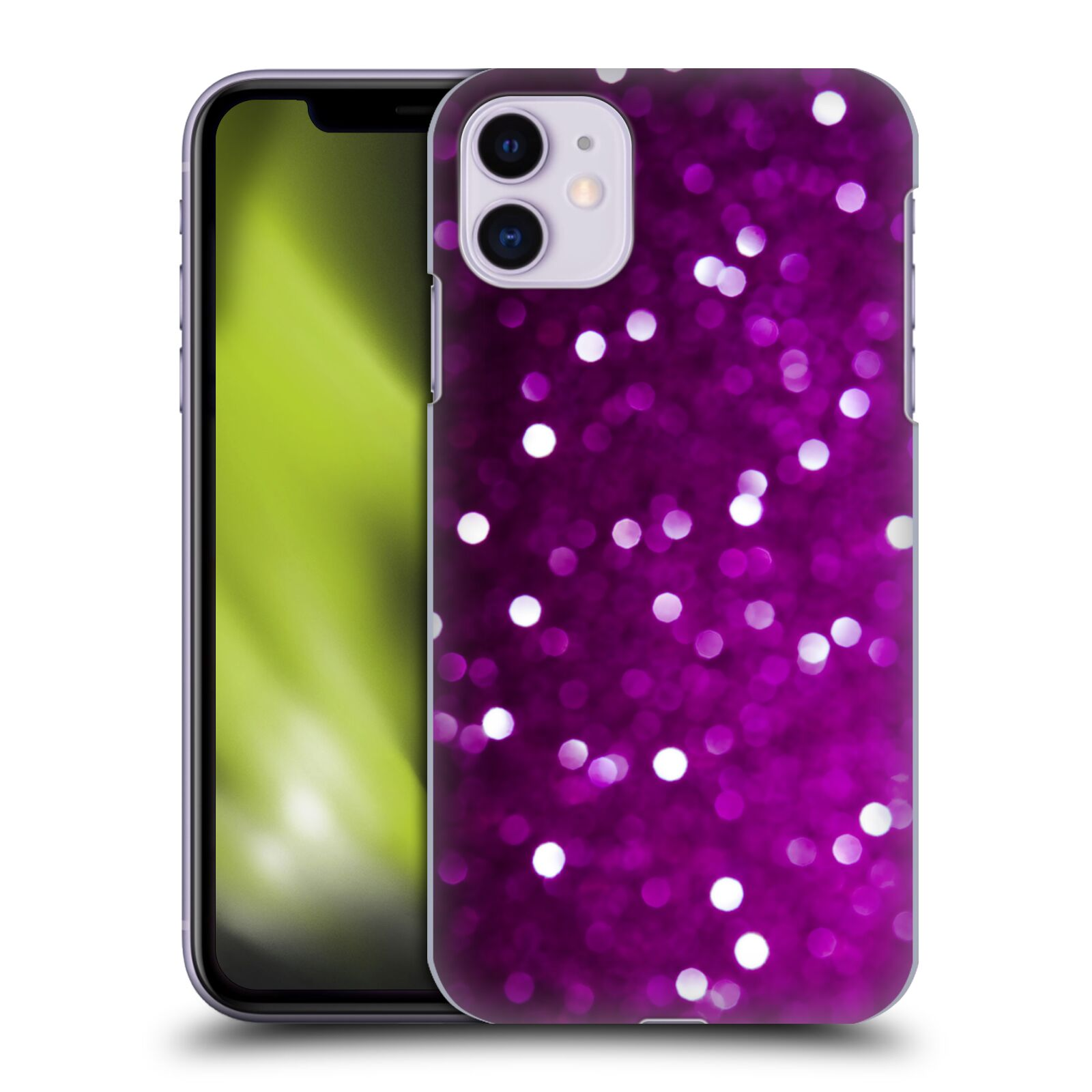 Official PLdesign Bokeh Purple Back Case for Apple iPhone 11