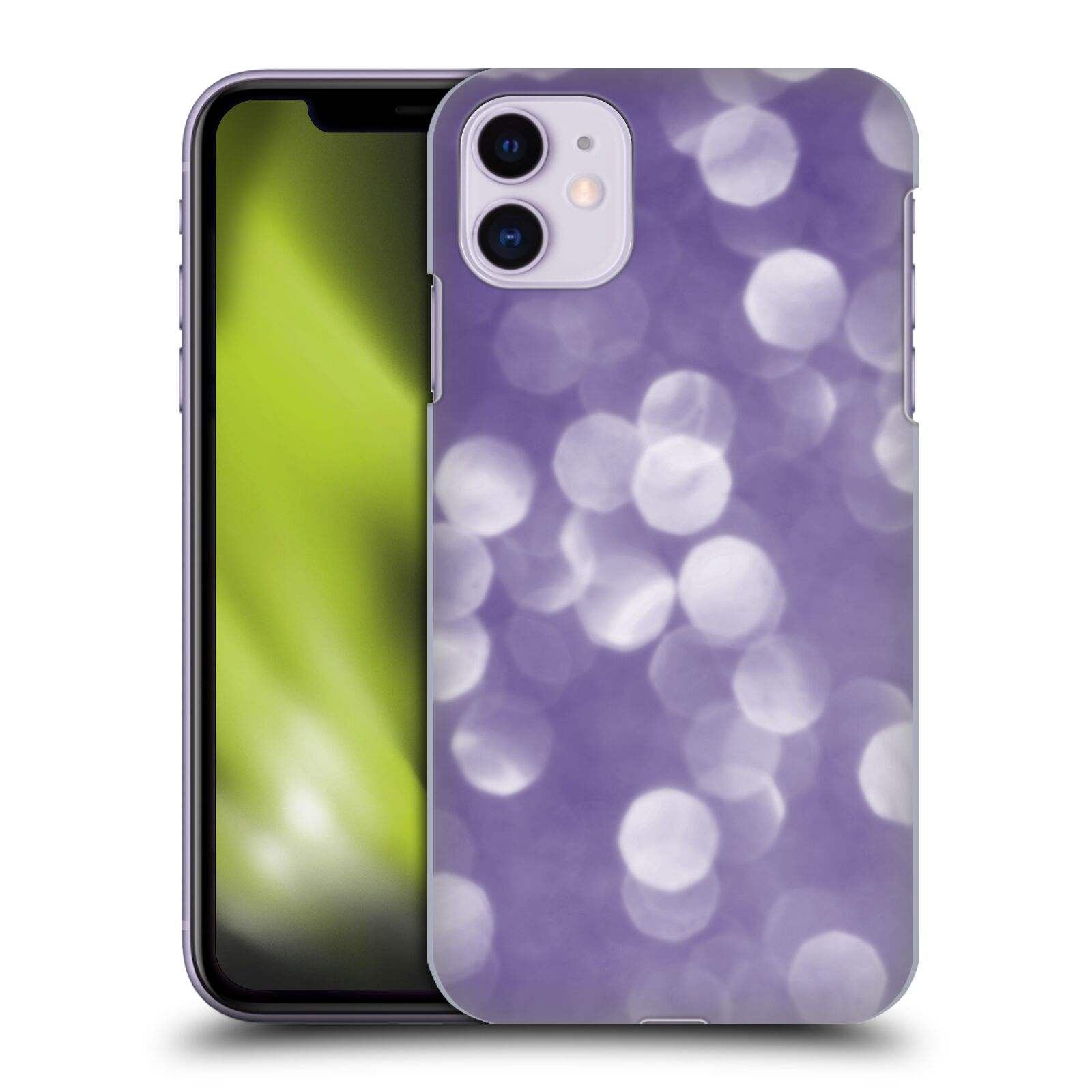Official PLdesign Bokeh Ultra Violet Back Case for Apple iPhone 11