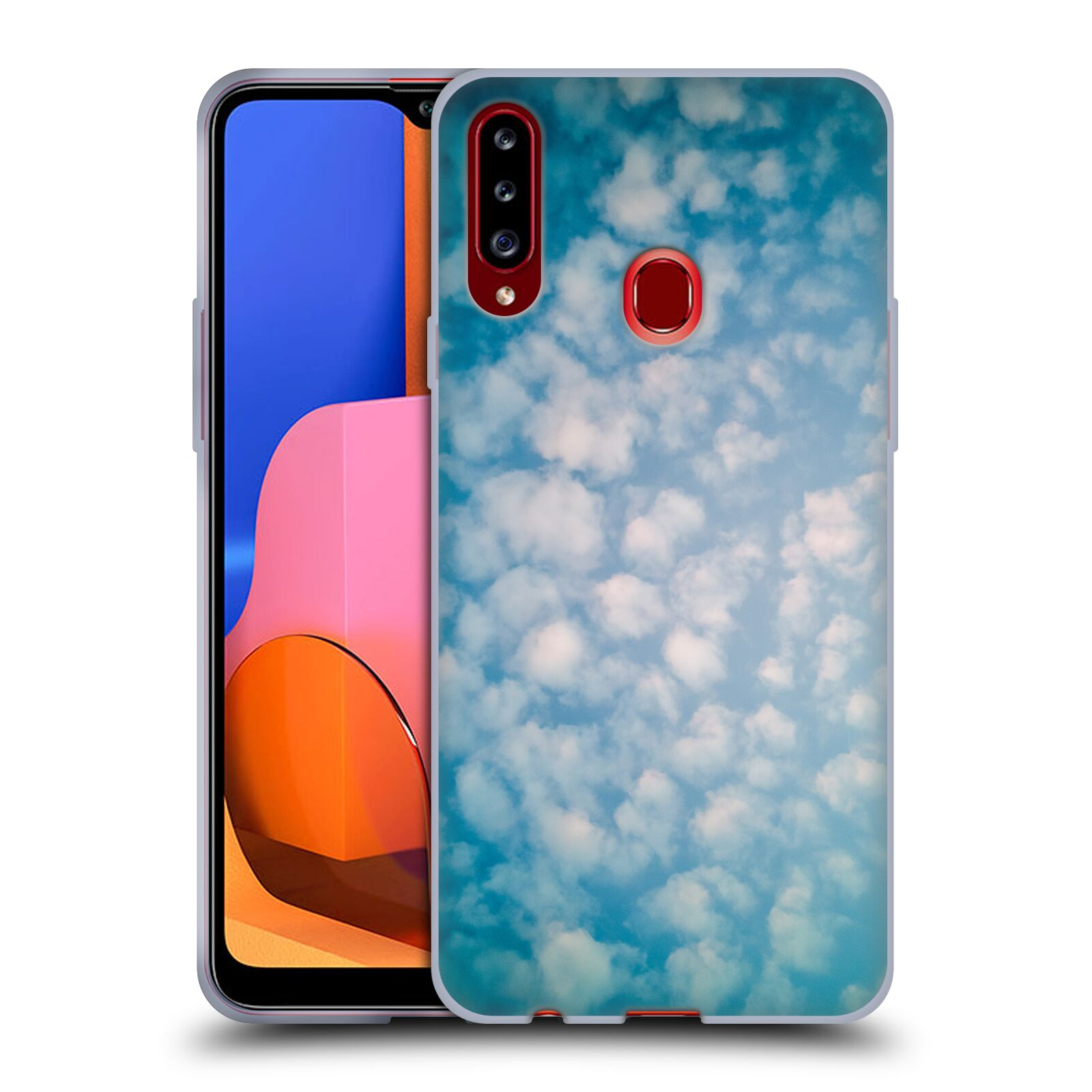Official PLdesign Clouds Altocumulus Gel Case for Samsung Galaxy A20s (2019)