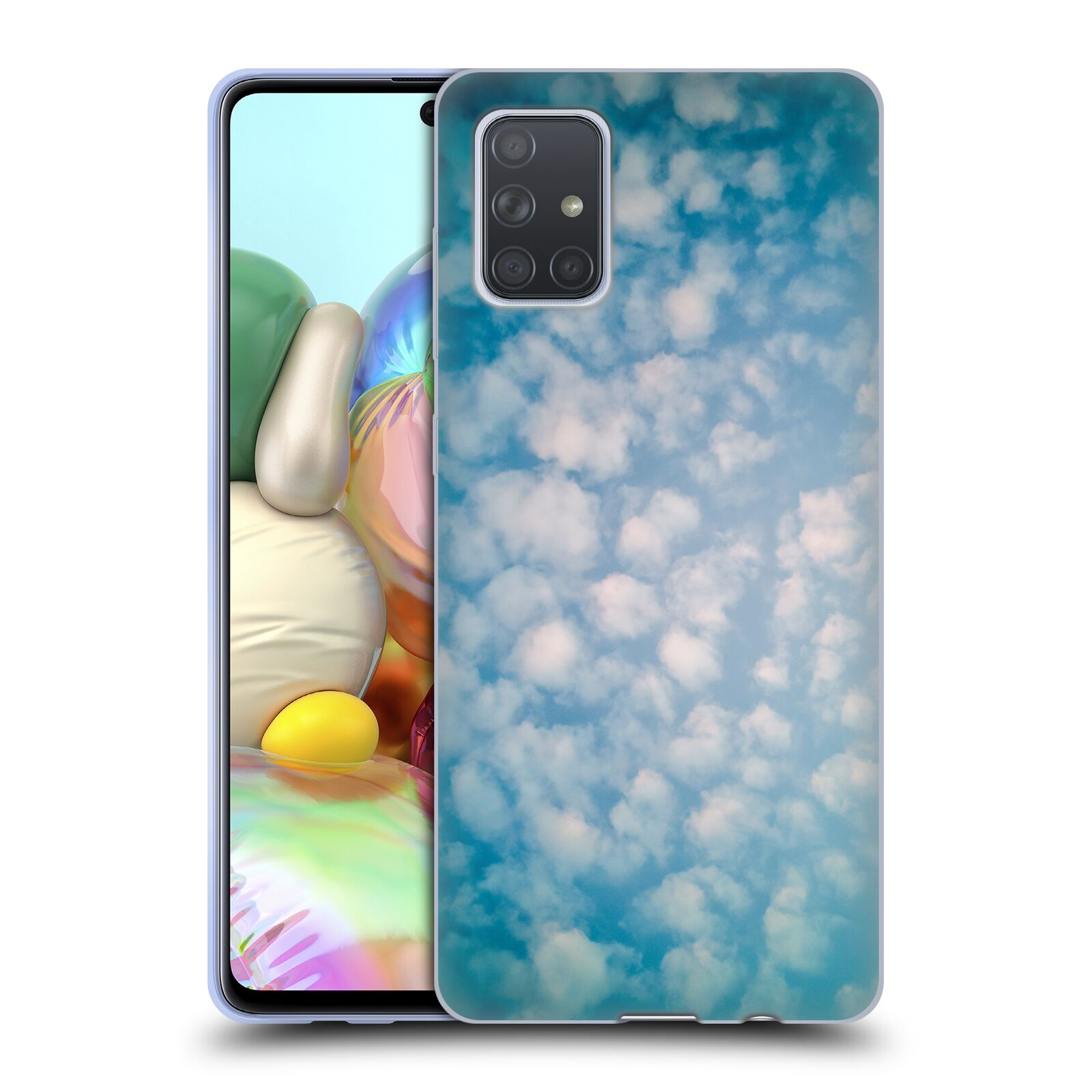 Official PLdesign Clouds Altocumulus Gel Case for Samsung Galaxy A71 (2019)
