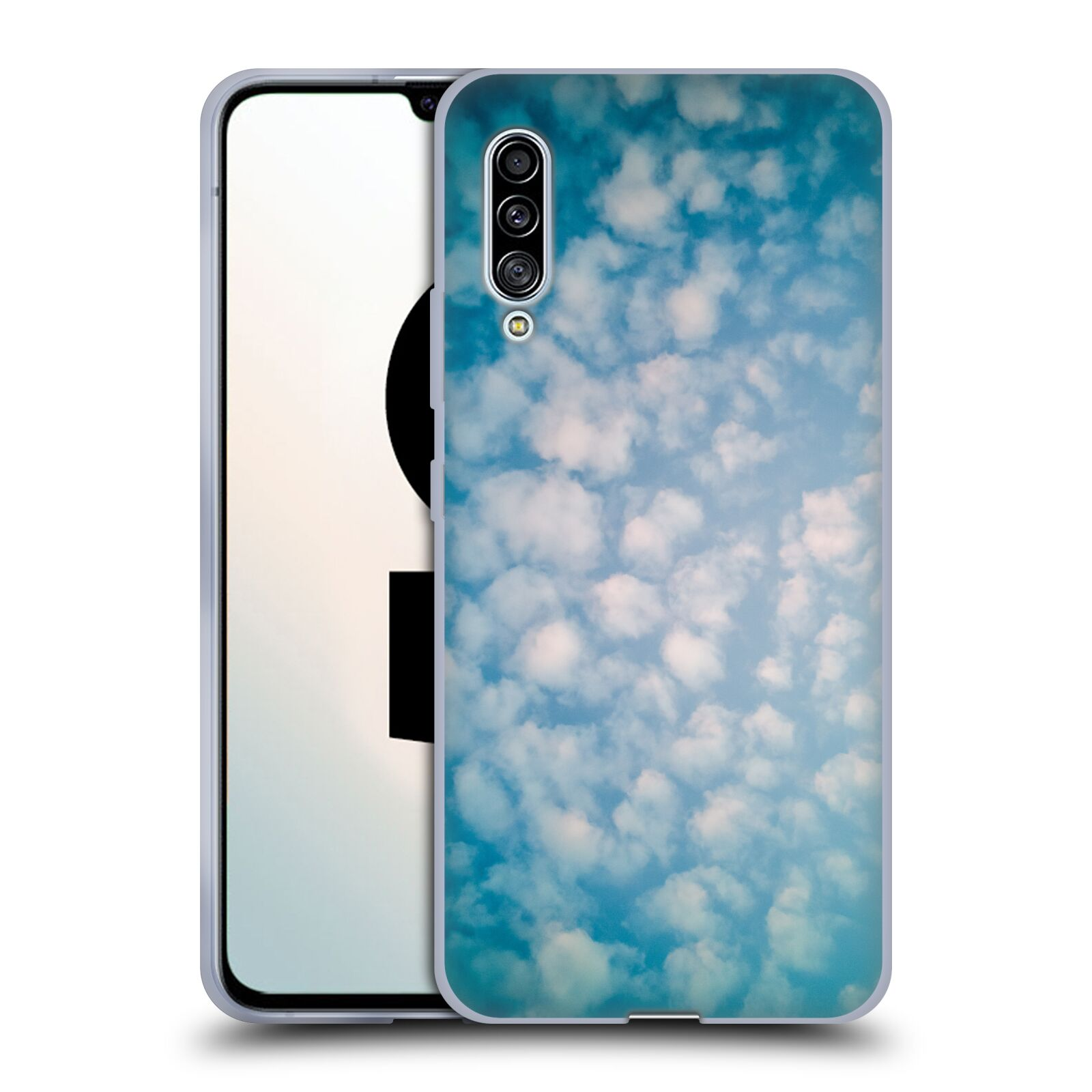 Official PLdesign Clouds Altocumulus Gel Case for Samsung Galaxy A90 5G (2019)