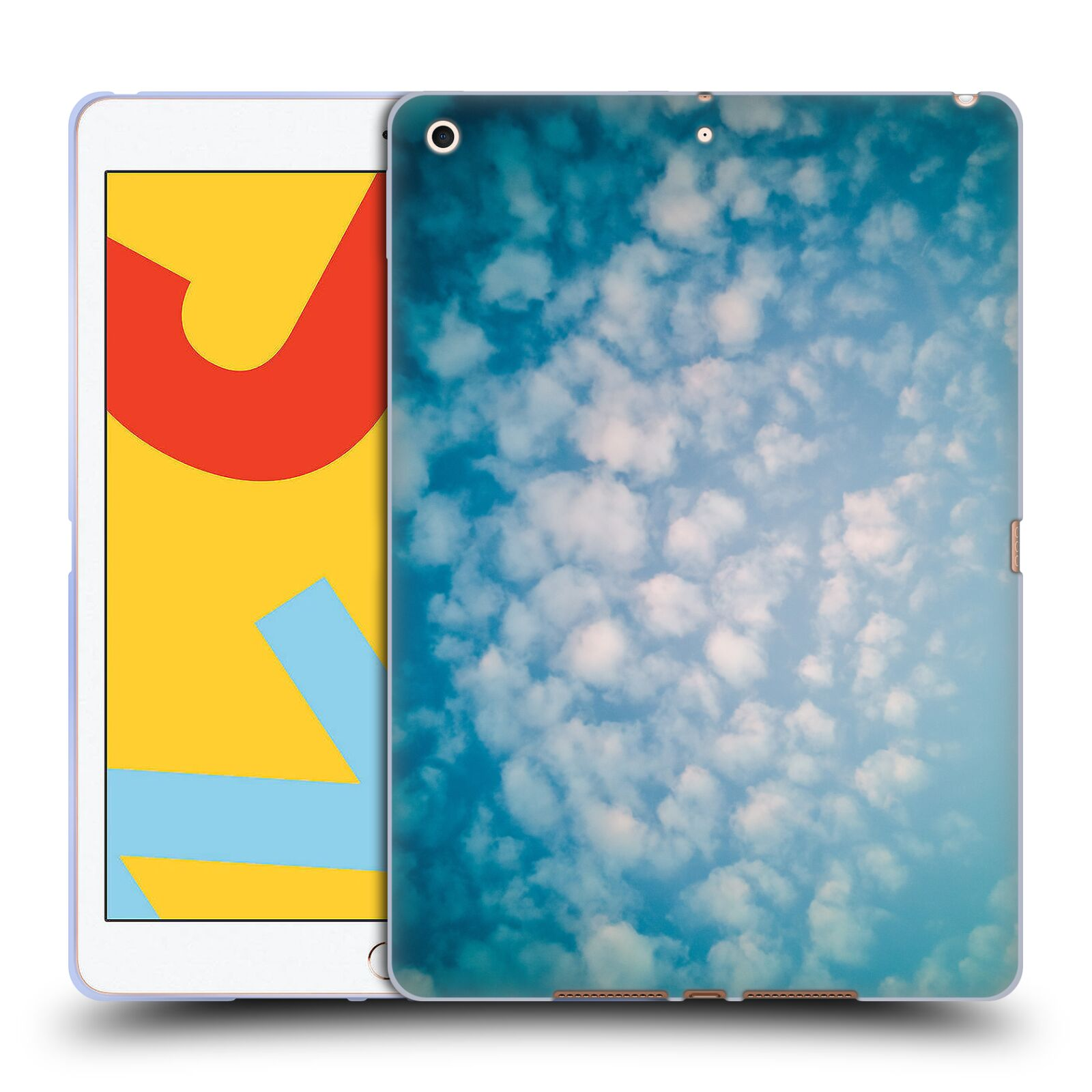 Official PLdesign Clouds Altocumulus Gel Case for Apple iPad 10.2 (2019)
