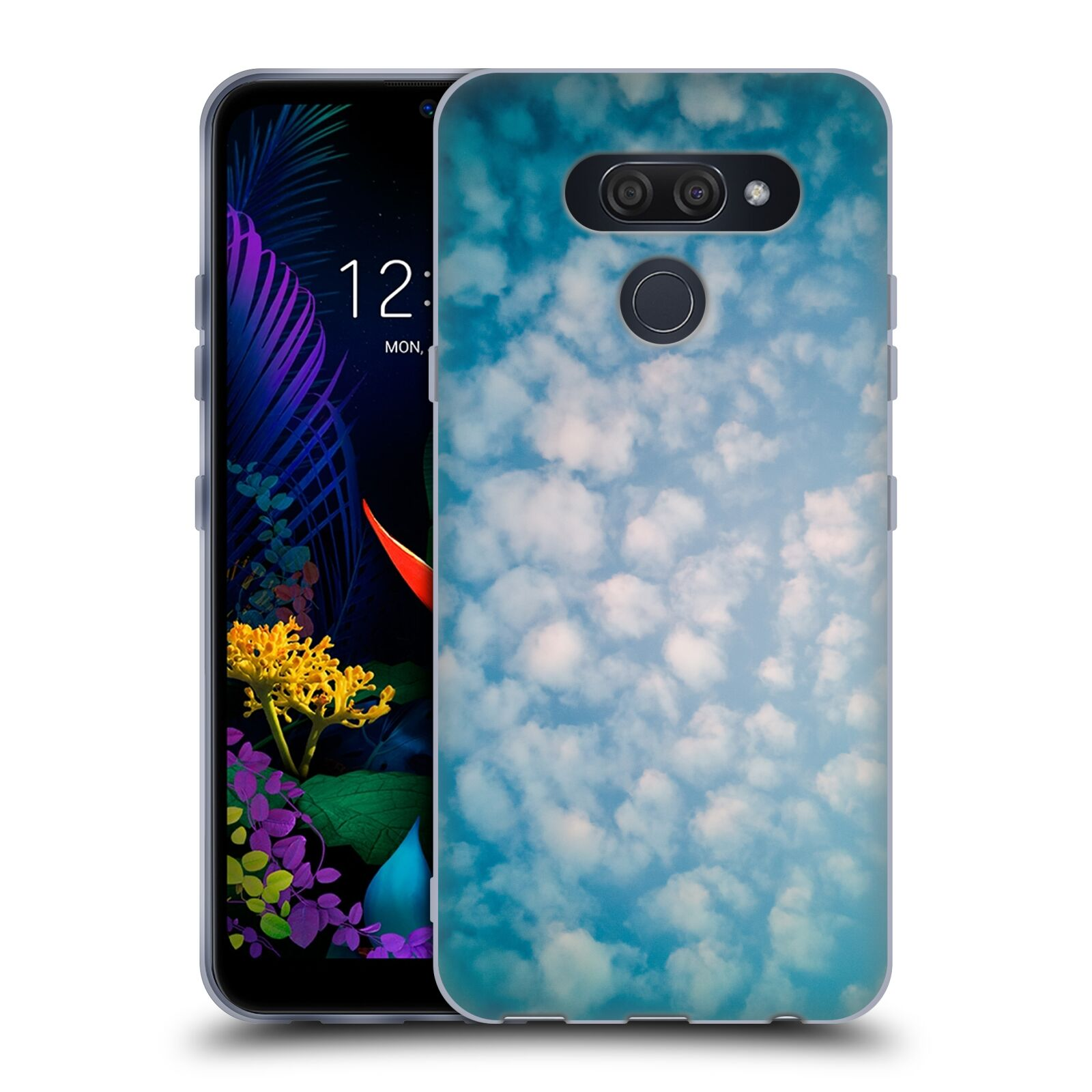 Official PLdesign Clouds Altocumulus Gel Case for LG K50
