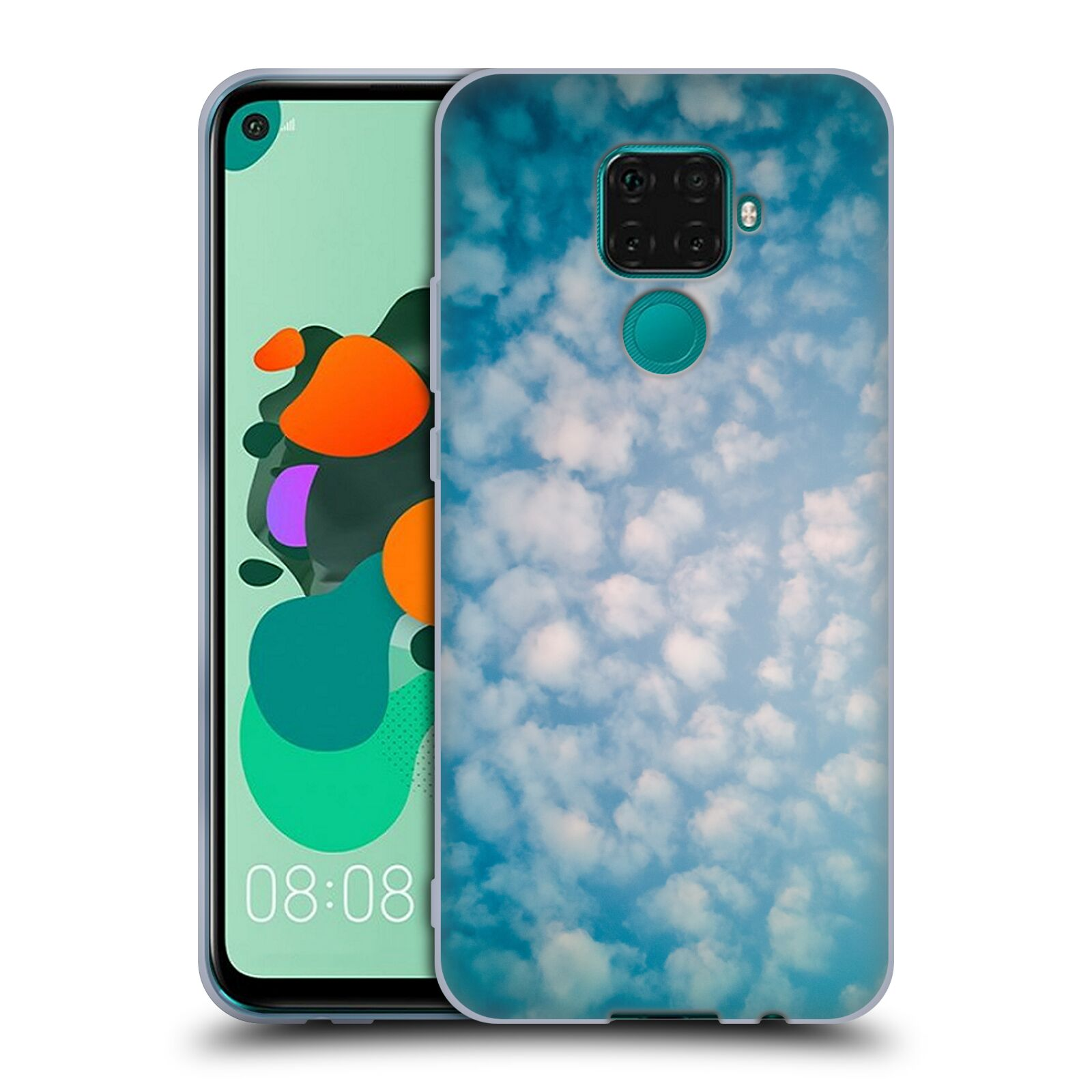 Official PLdesign Clouds Altocumulus Gel Case for Huawei Nova 5i Pro/Mate 30 Lite