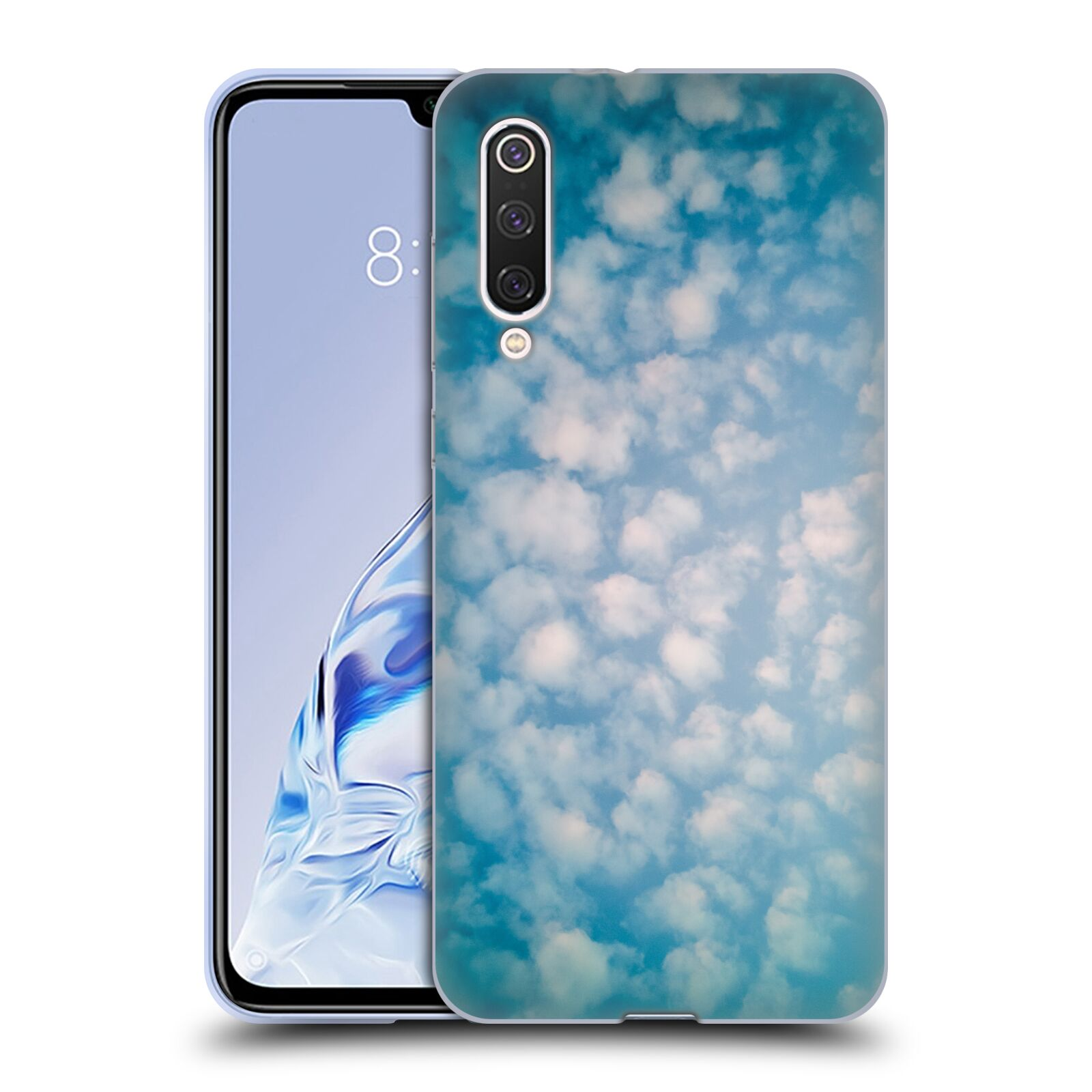 Official PLdesign Clouds Altocumulus Gel Case for Xiaomi Mi 9 Pro / 5G