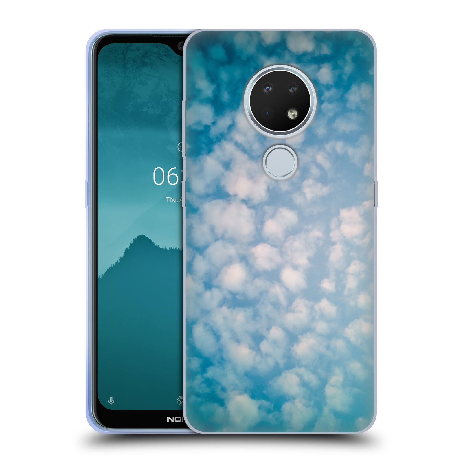 Official PLdesign Clouds Altocumulus Gel Case for Nokia 6.2
