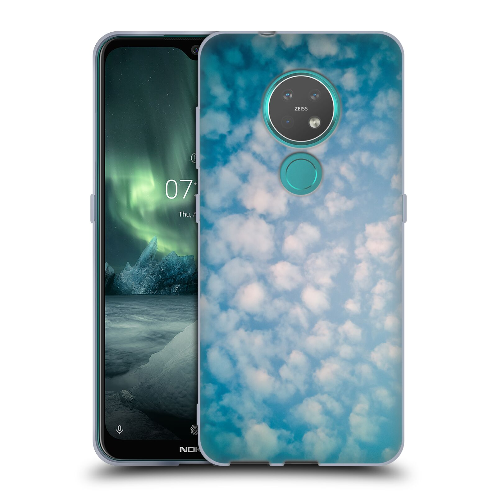 Official PLdesign Clouds Altocumulus Gel Case for Nokia 7.2