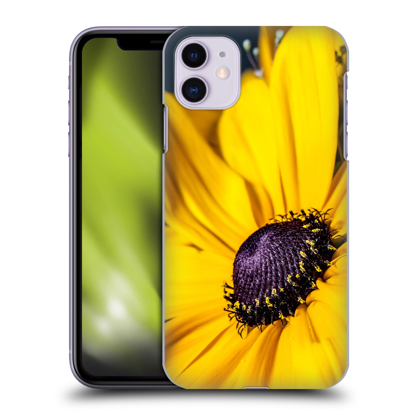 Official PLdesign Flowers And Leaves Daisy Back Case for Apple iPhone 11