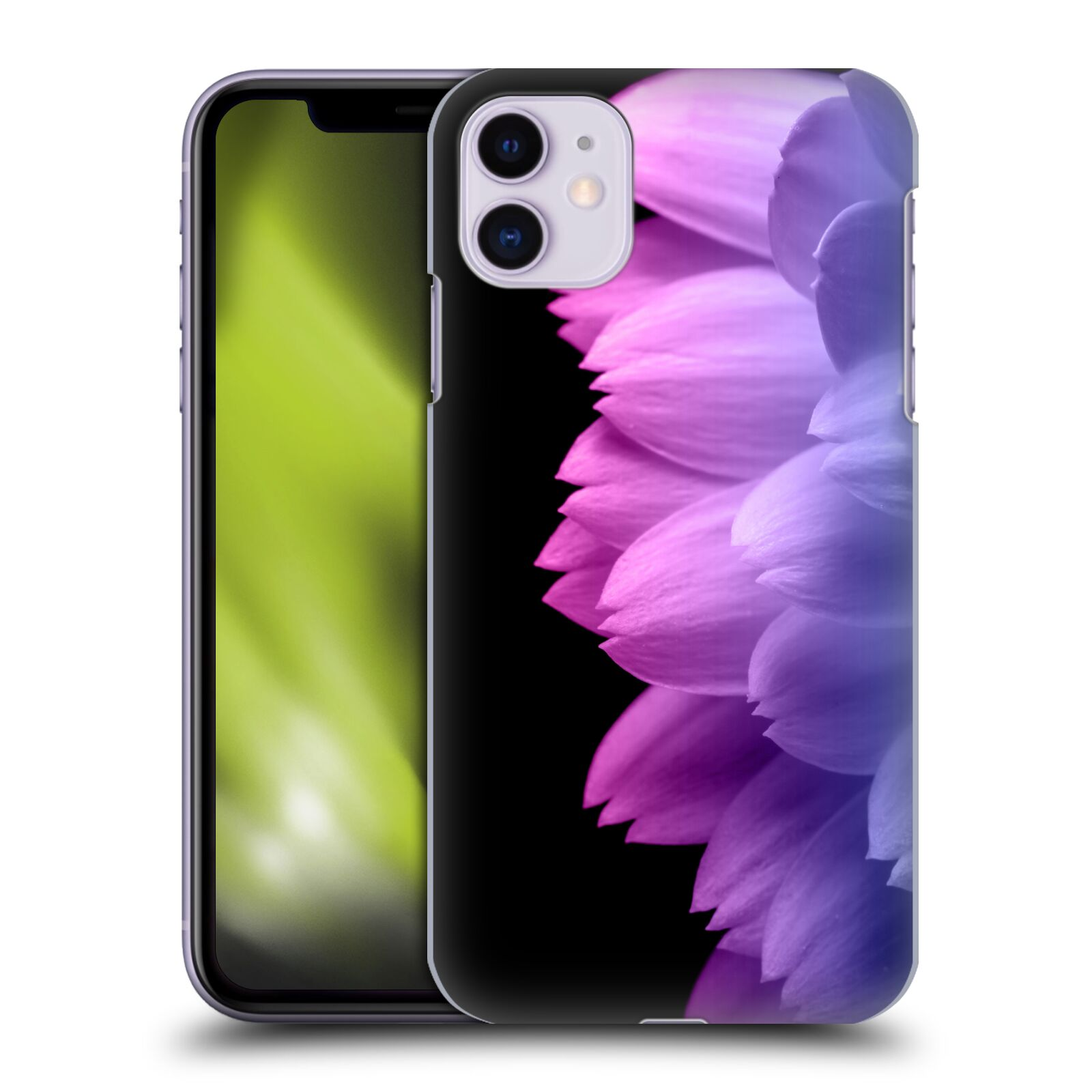 Official PLdesign Flower Petals Blue Pink Case for Apple iPhone 11
