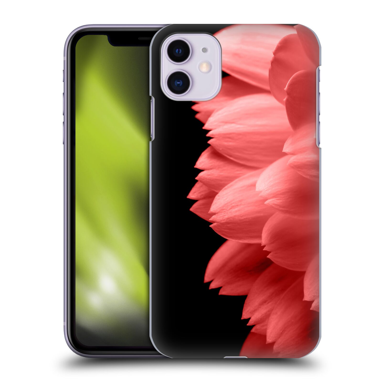 Official PLdesign Flower Petals Red Back Case for Apple iPhone 11