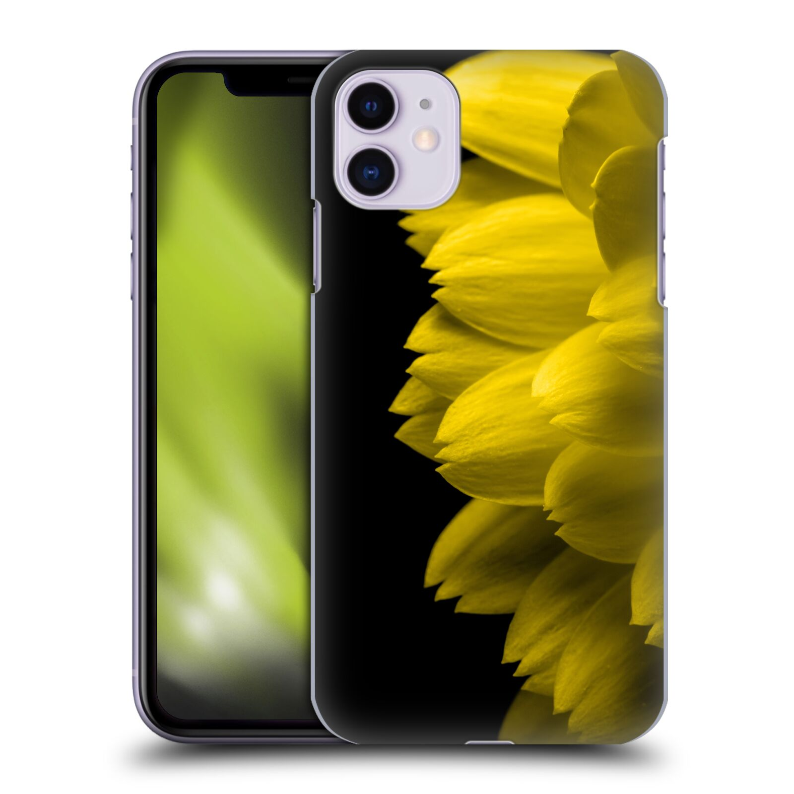 Official PLdesign Flower Petals Yellow Back Case for Apple iPhone 11