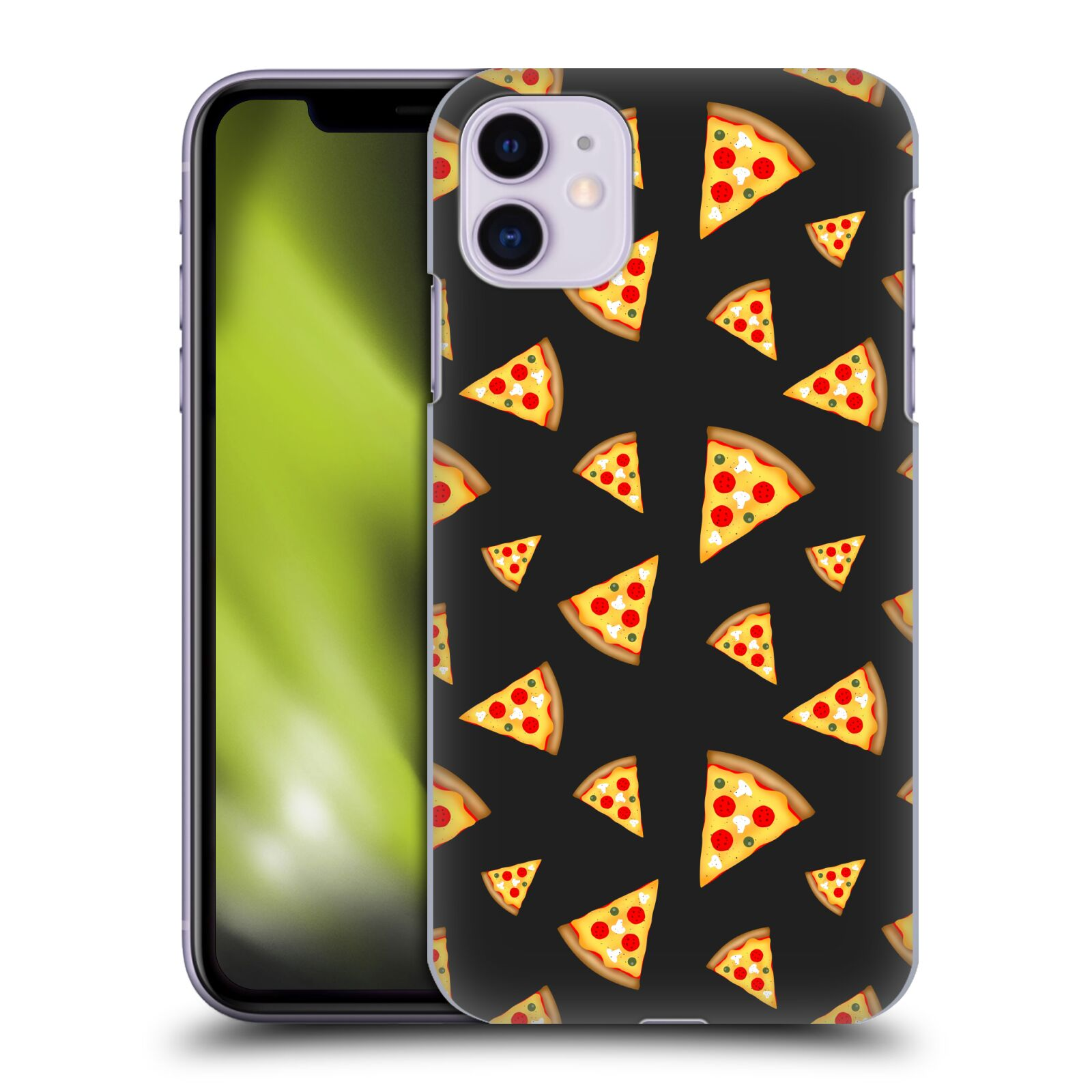 Official PLdesign Food Pizza Slices Pattern Case for Apple iPhone 11