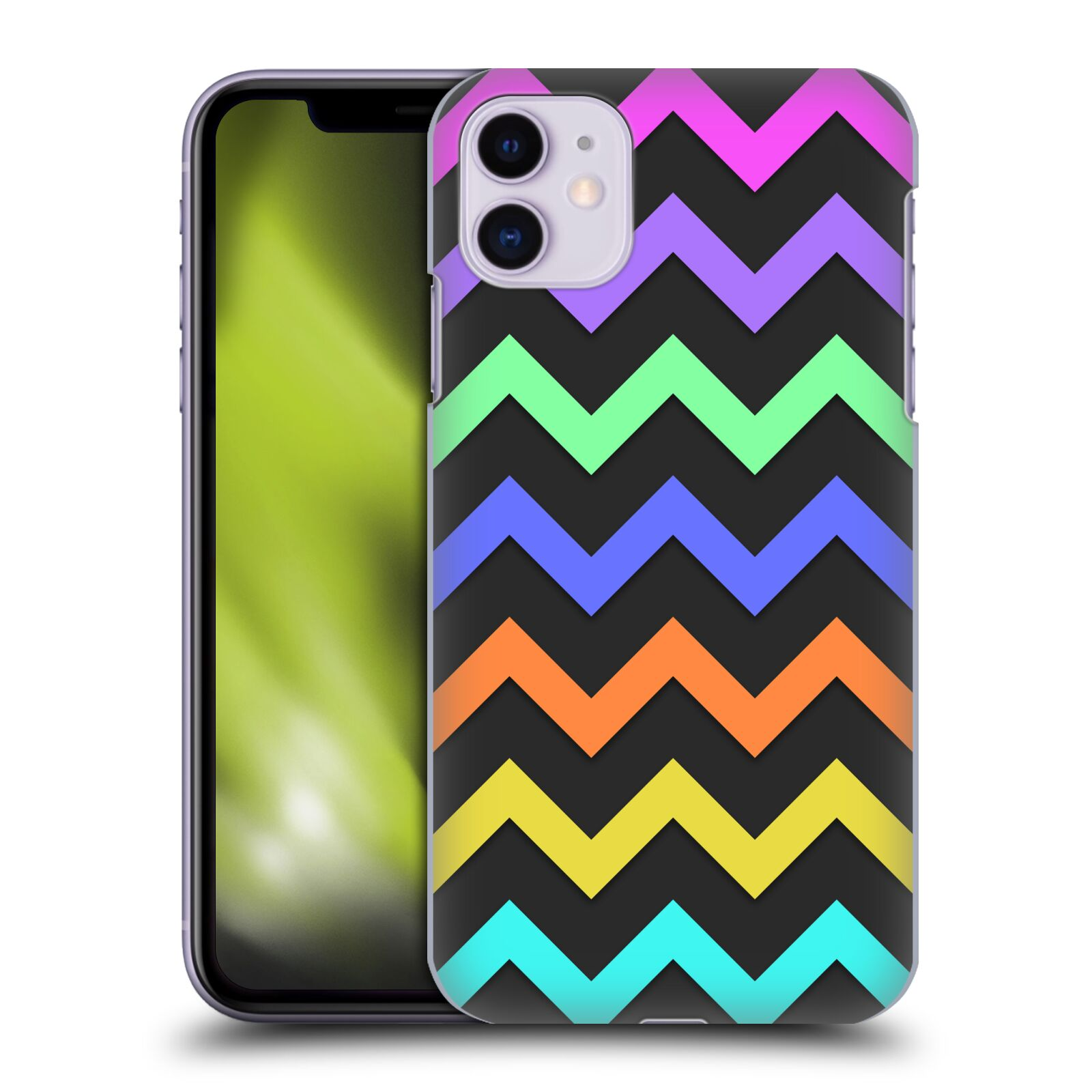 Official PLdesign Geometric Chevron Back Case for Apple iPhone 11