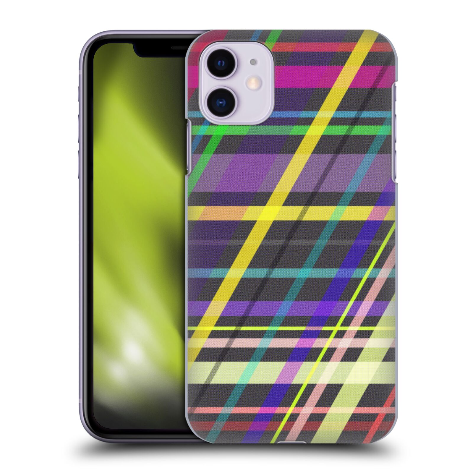 Official PLdesign Geometric Crossing Lines Back Case for Apple iPhone 11