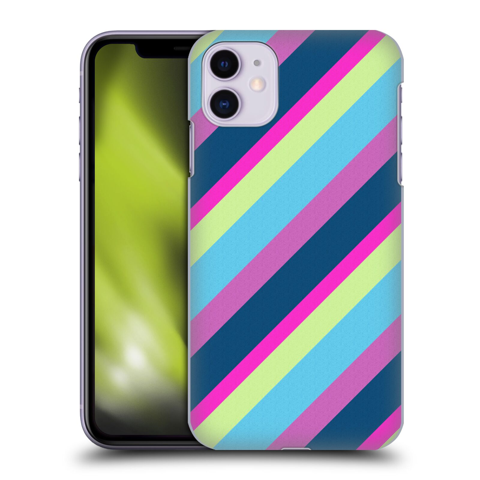 Official PLdesign Geometric Lines Back Case for Apple iPhone 11