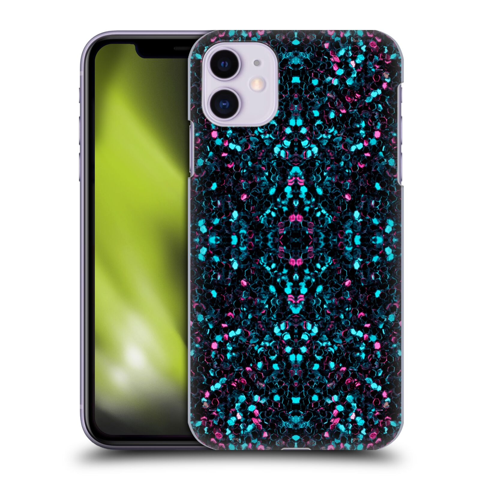 Official PLdesign Glitter Fashion Mosaic Back Case for Apple iPhone 11