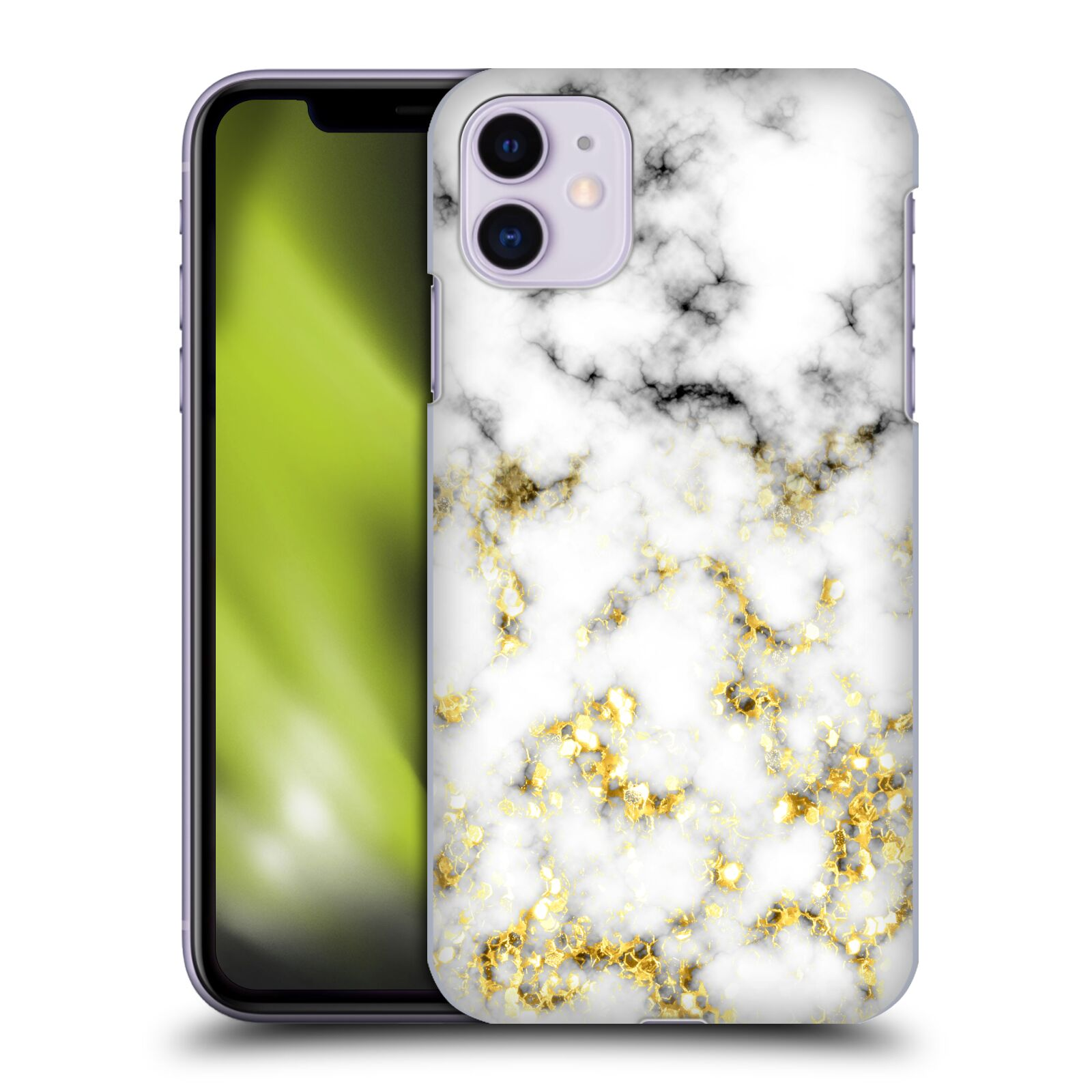 Official PLdesign Glitter Texture Marble Case for Apple iPhone 11
