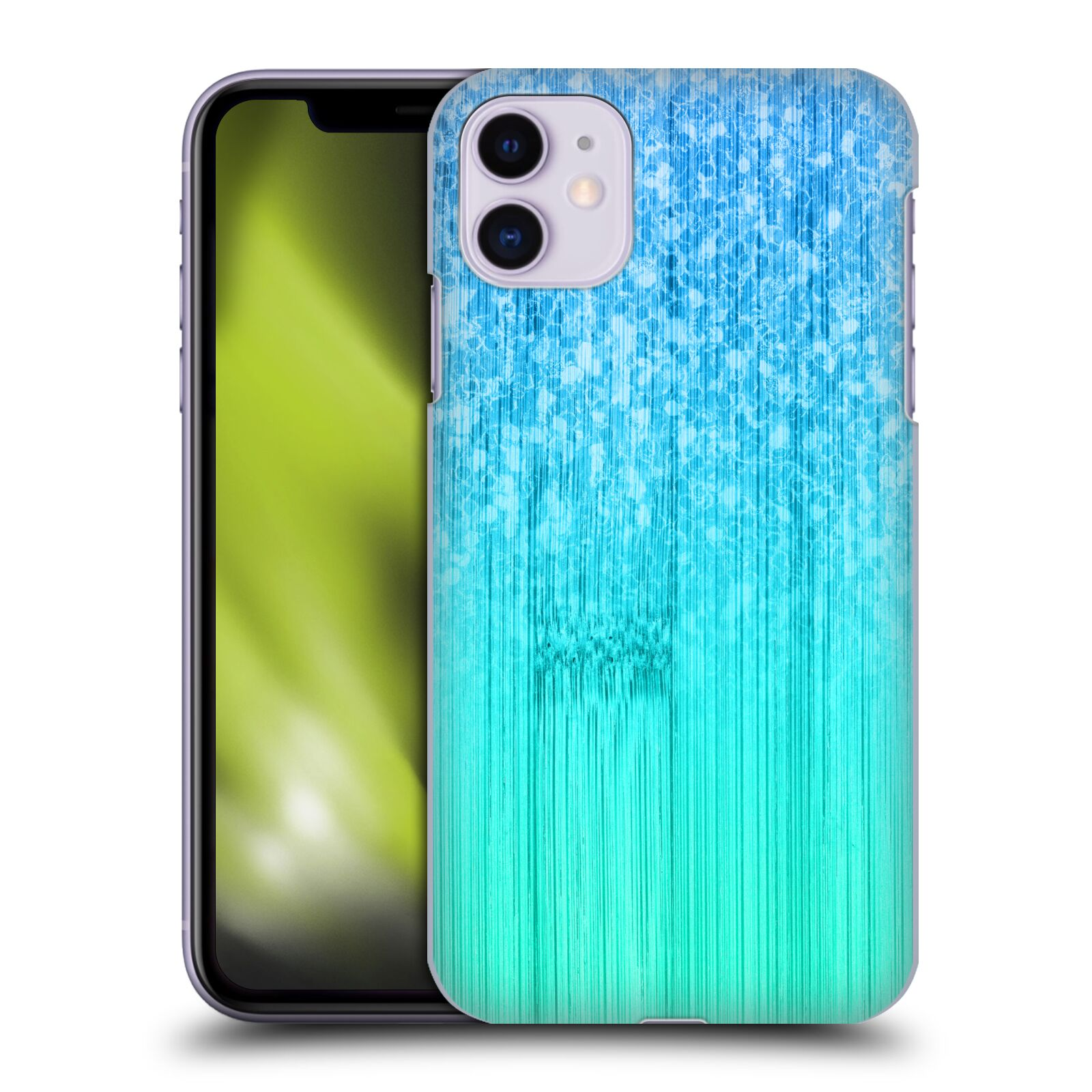 Official PLdesign Sparkly Bamboo Blue Green Case for Apple iPhone 11