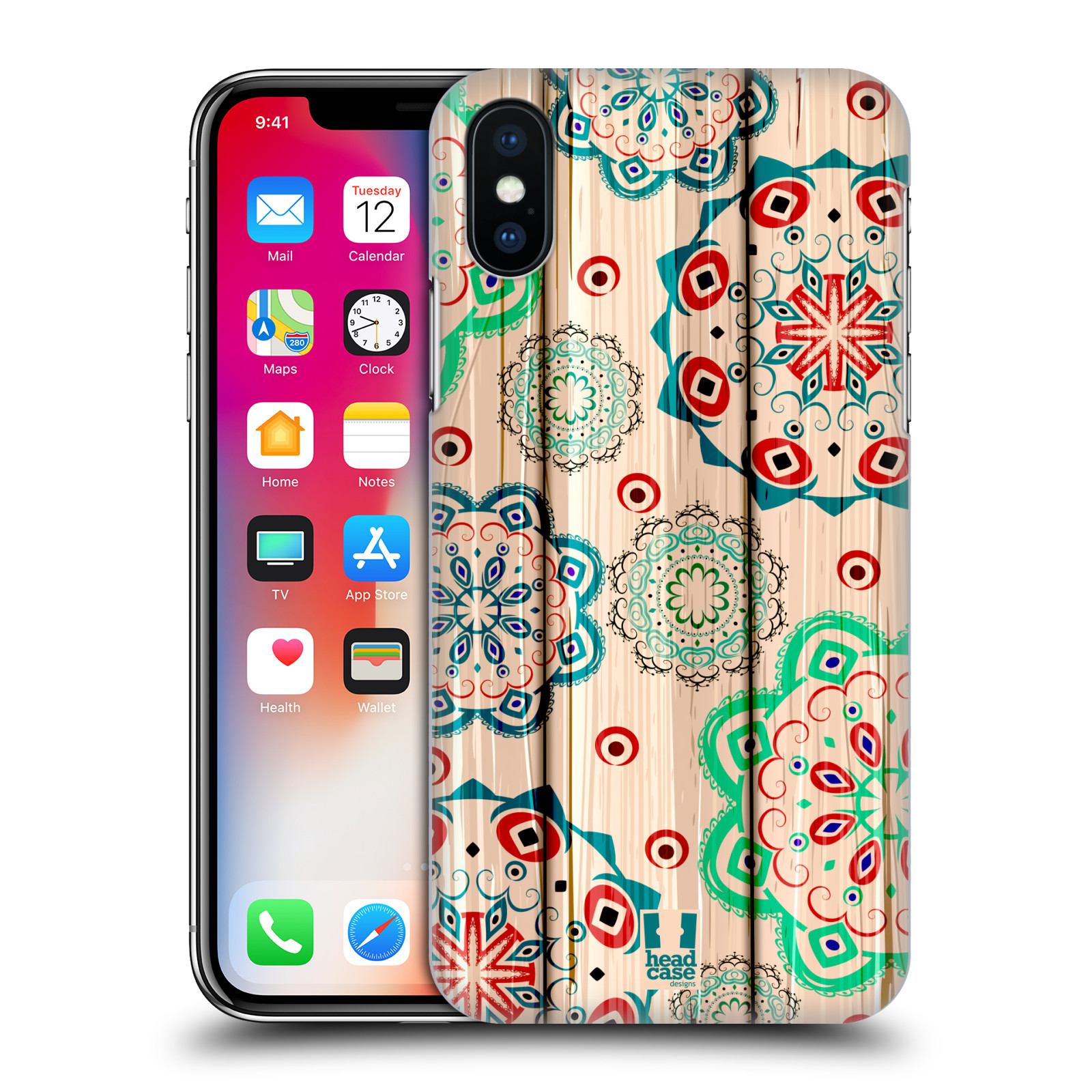 HEAD-CASE-DESIGNS-MIXED-UP-MUSTER-RUCKSEITE-HULLE-FUR-APPLE-iPHONE-X