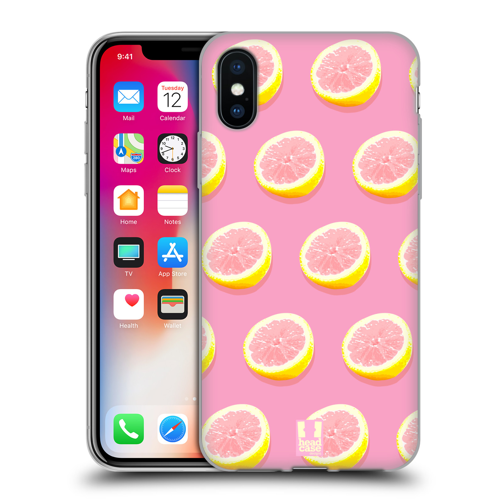 HEAD-CASE-DESIGNS-PINK-LEMONADE-SOFT-GEL-CASE-FOR-APPLE-iPHONE-PHONES