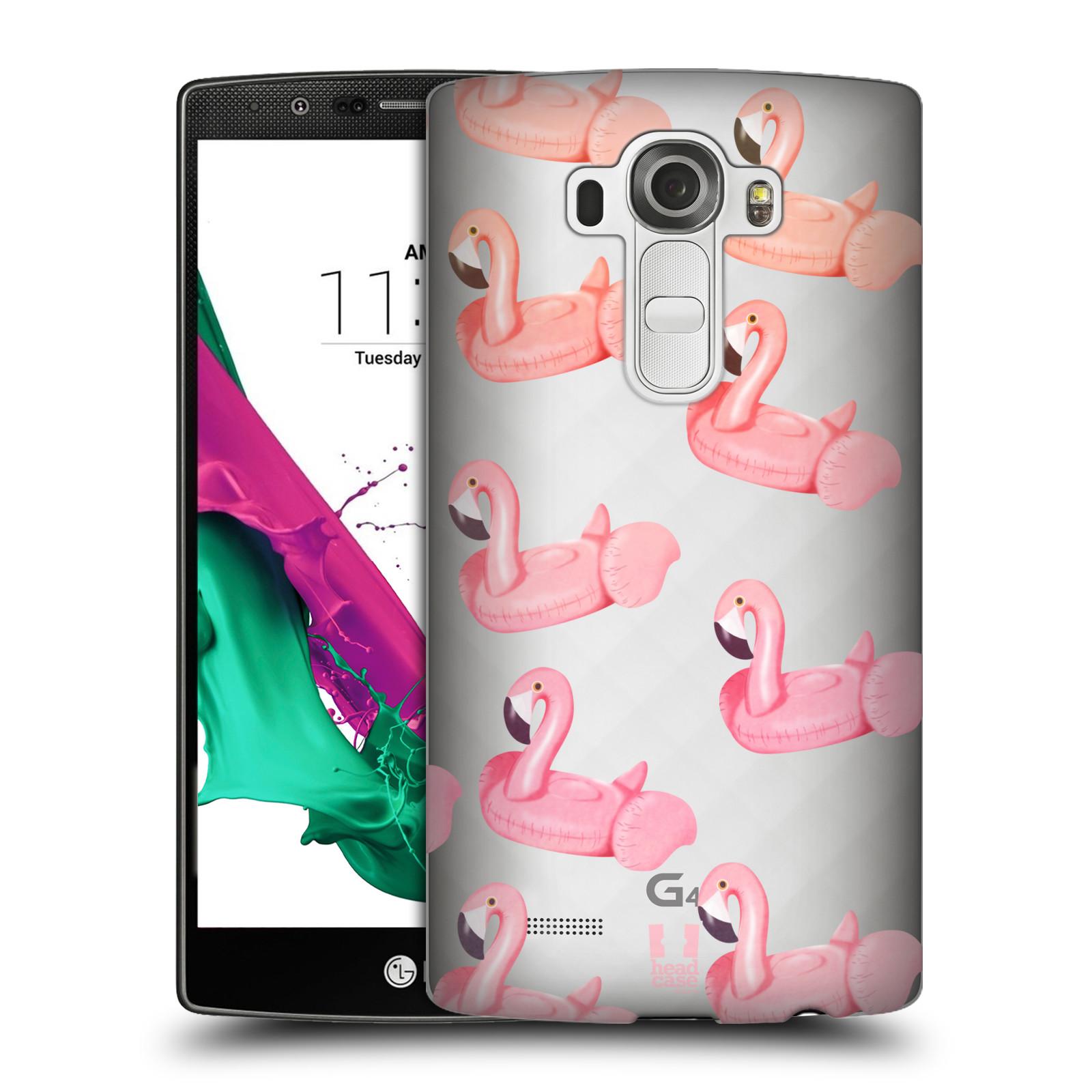 Plastové pouzdro na mobil LG G4 - Head Case - Kruh plaměňák