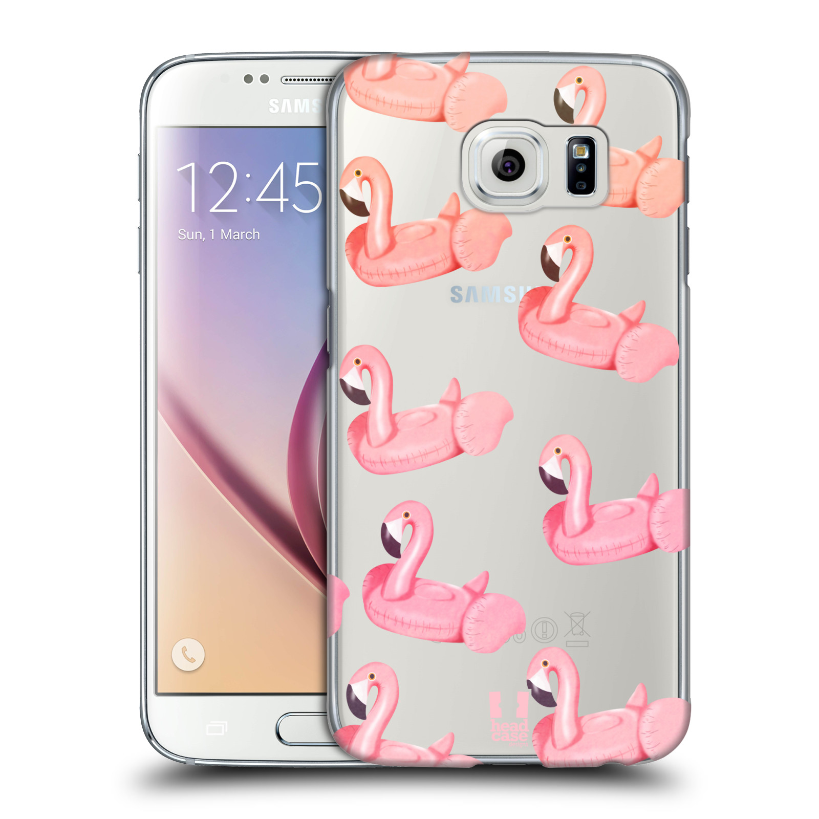 Plastové pouzdro na mobil Samsung Galaxy S6 - Head Case - Kruh plaměňák